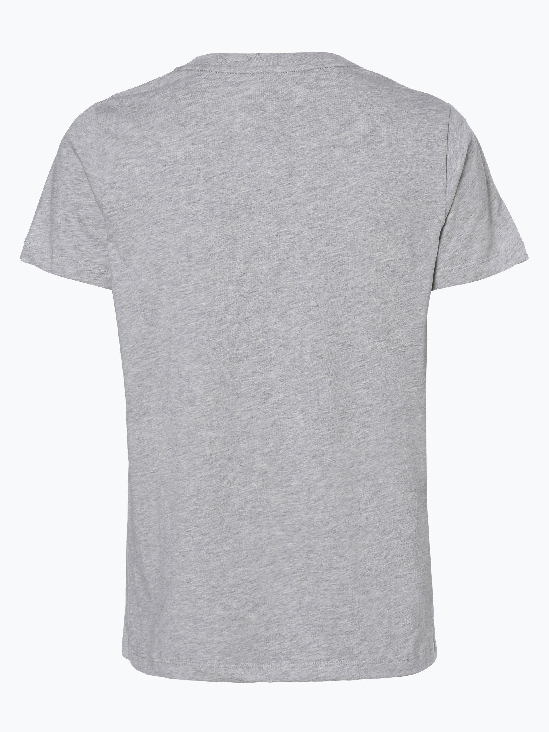 tommy hilfiger damen t shirt grau uni online kaufen. Black Bedroom Furniture Sets. Home Design Ideas