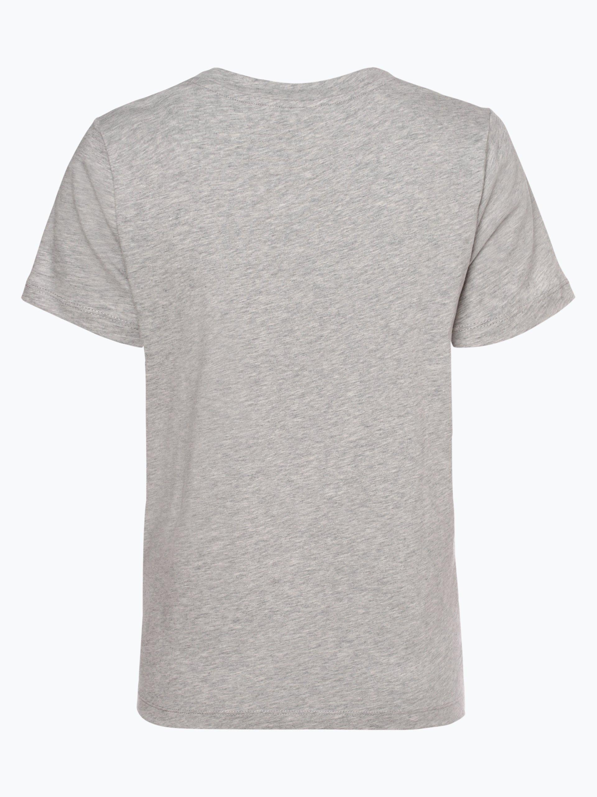 tommy hilfiger damen t shirt grau bedruckt online kaufen. Black Bedroom Furniture Sets. Home Design Ideas