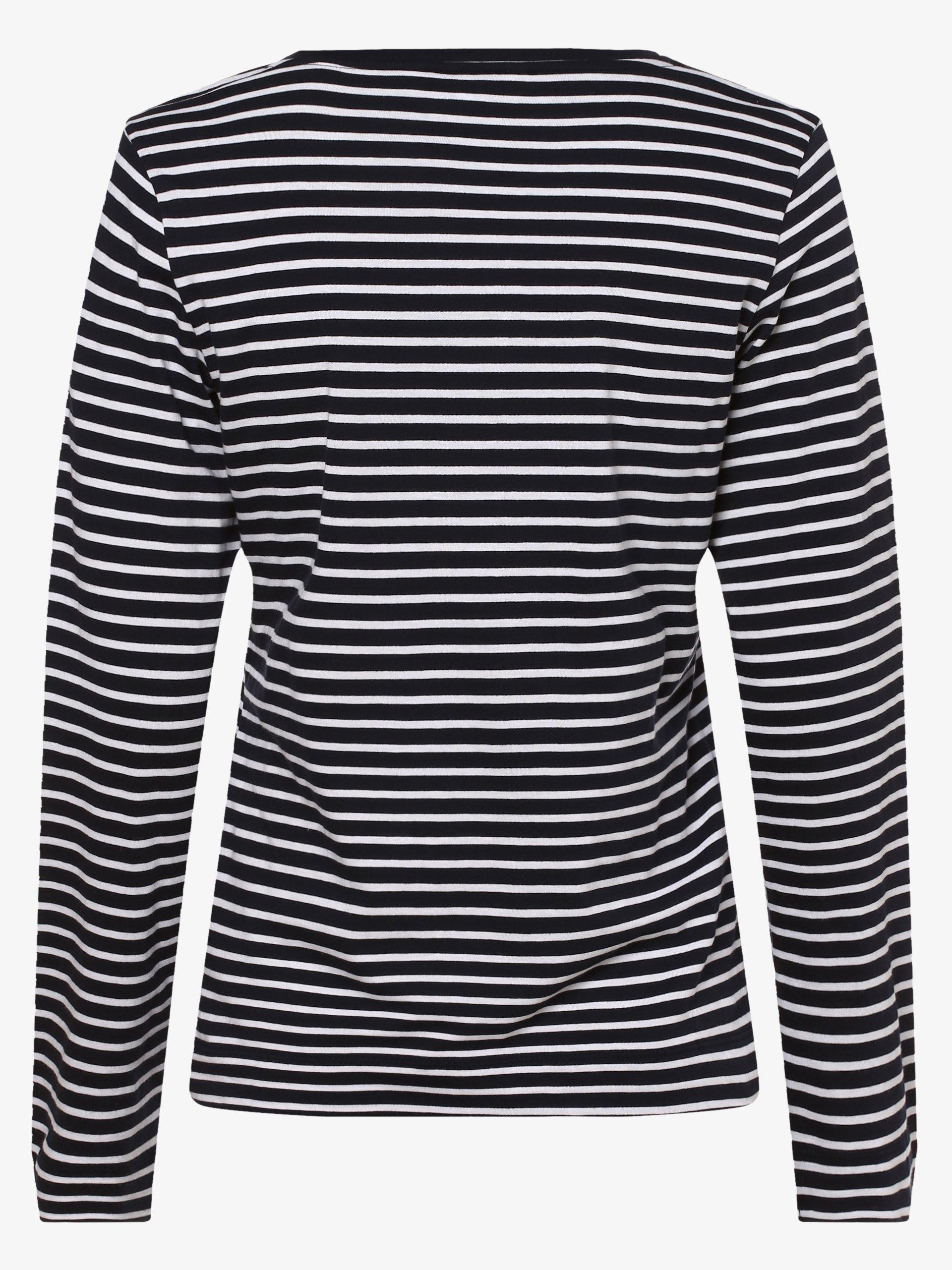 Tommy Hilfiger Damska koszulka z długim rękawem – Karola Scoop