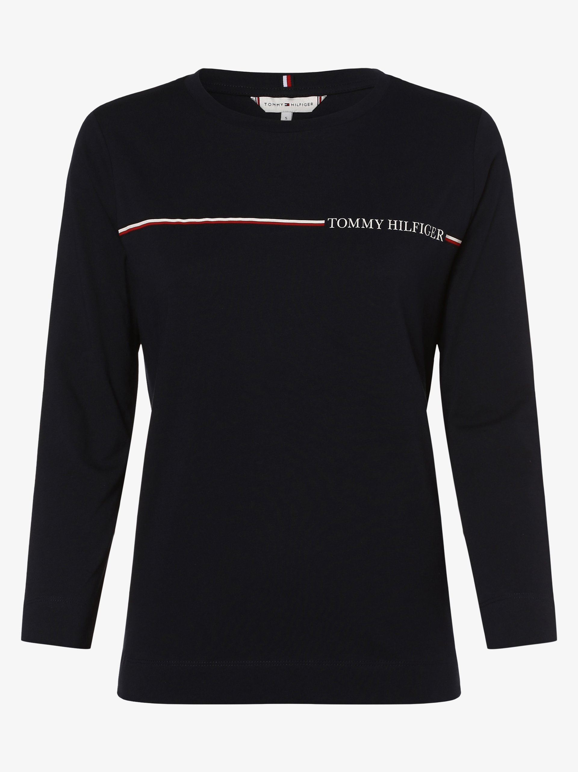 Tommy Hilfiger Damska koszulka z długim rękawem