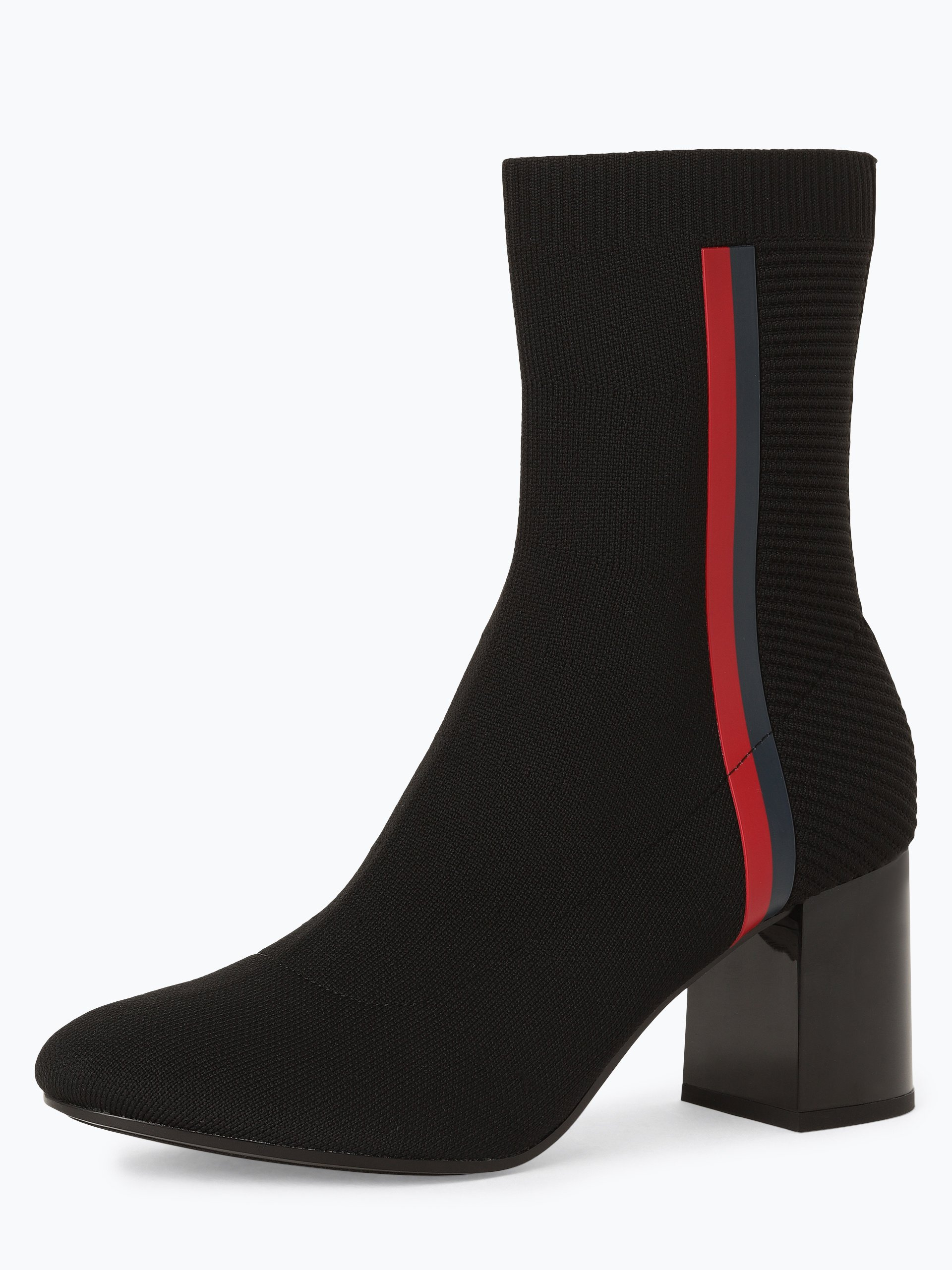 Tommy Hilfiger Damskie botki – Knitted Heeled Boot