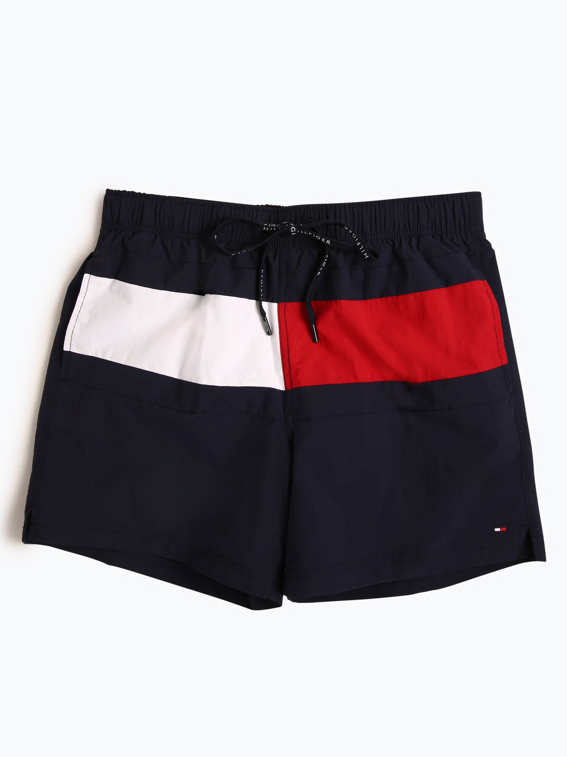 tommy hilfiger herren badeshorts marine gestreift online. Black Bedroom Furniture Sets. Home Design Ideas