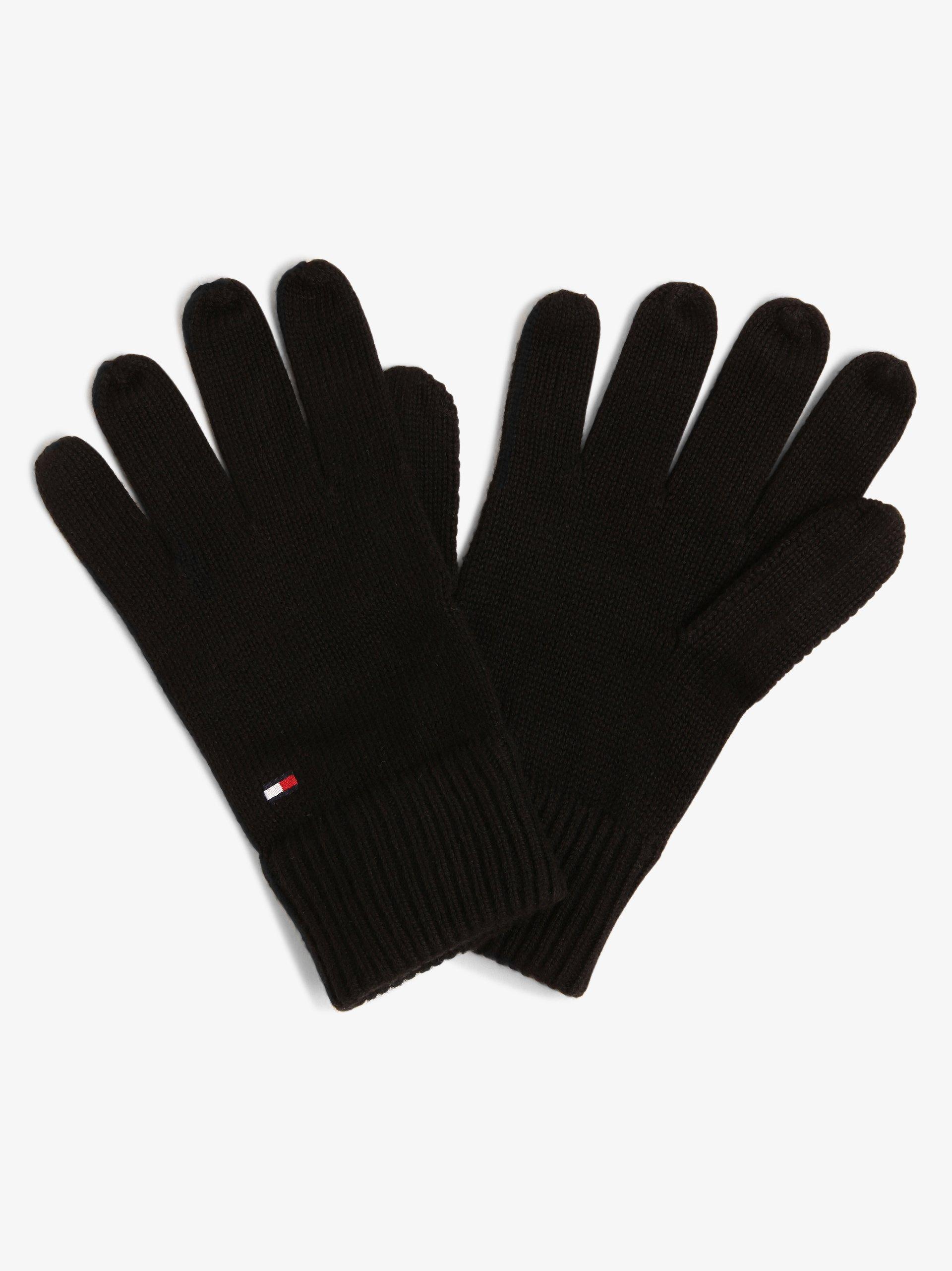 Tommy Hilfiger Herren Handschuhe mit Cashmere-Anteil