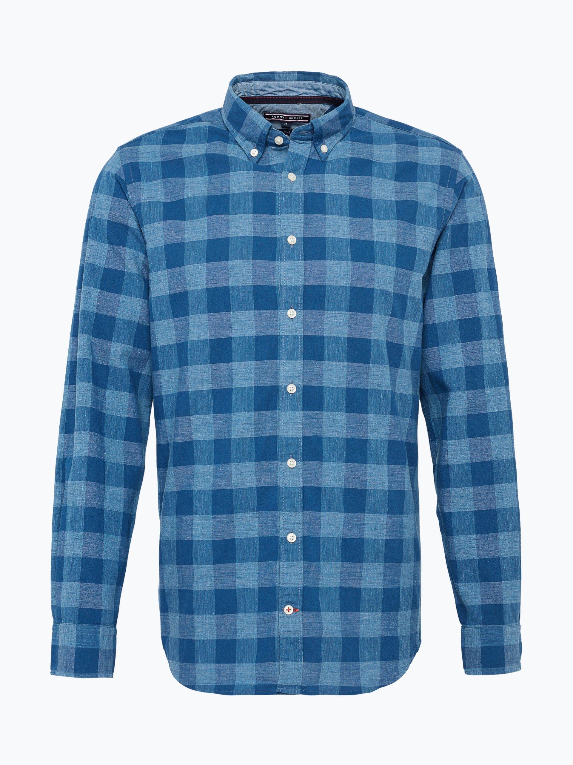 Tommy Hilfiger Herren Hemd Bügelfrei
