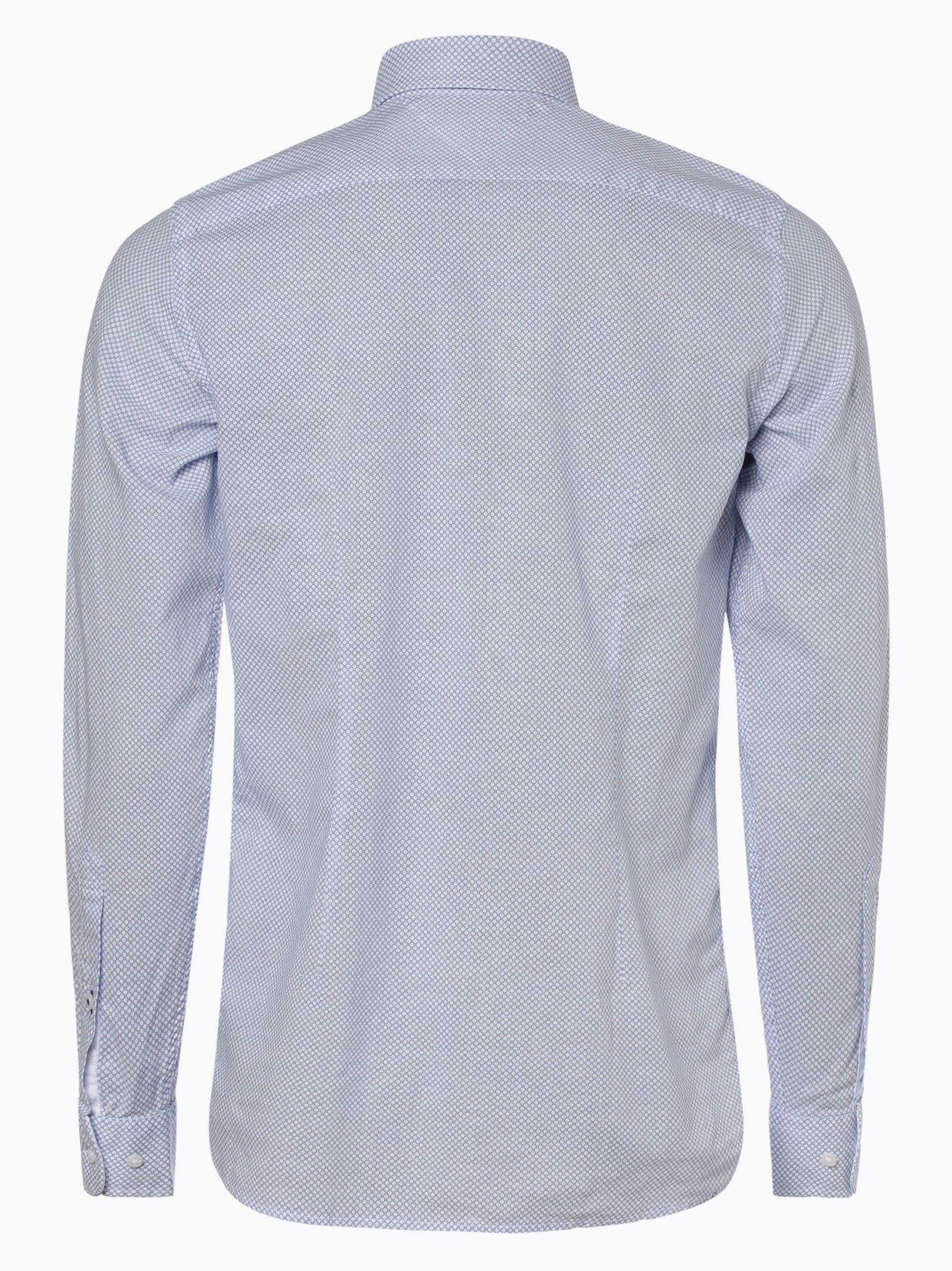 Tommy Hilfiger Herren Hemd mit Leinen-Anteil