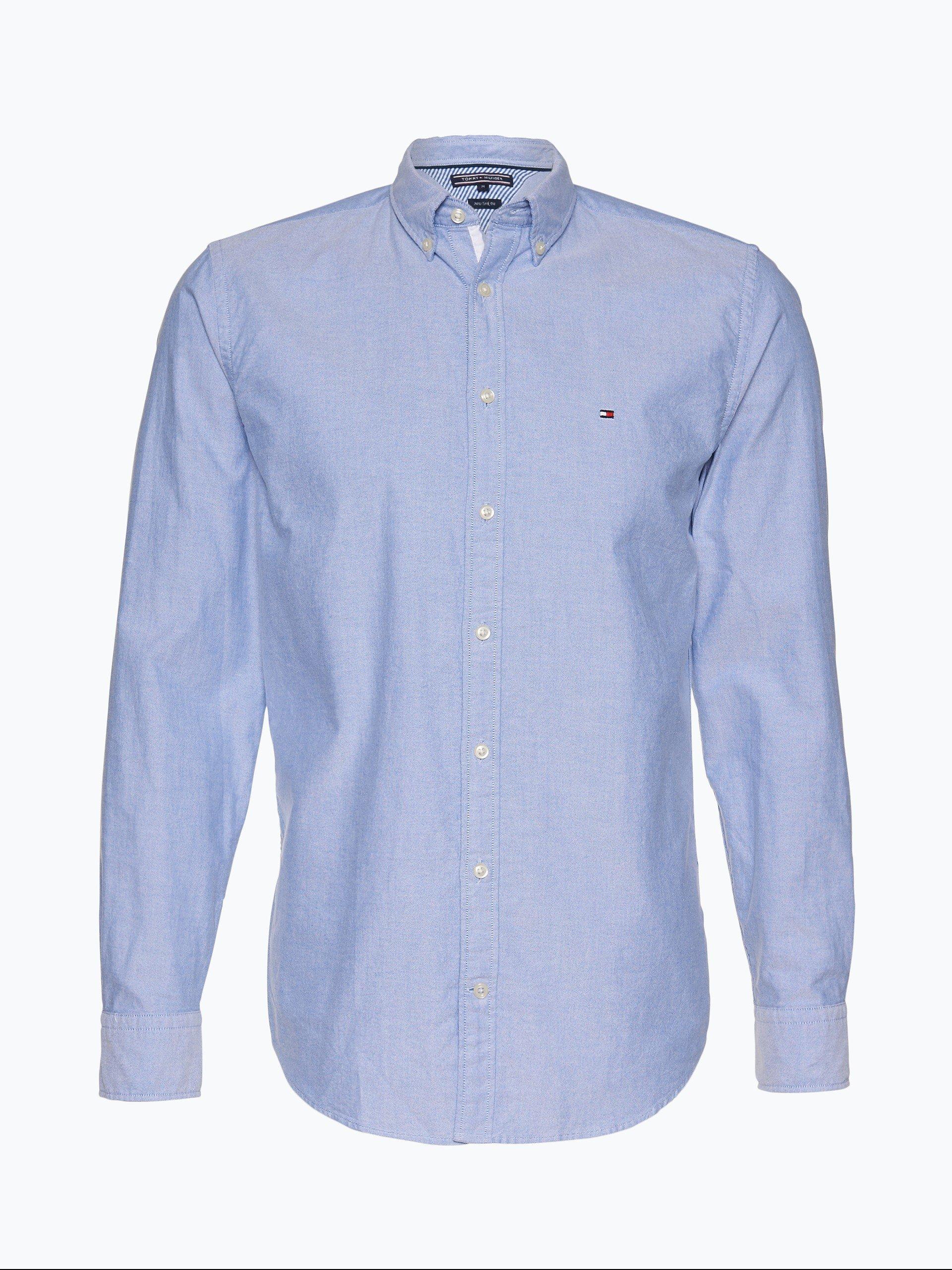 Tommy Hilfiger Herren Hemd Oxford - Ivy