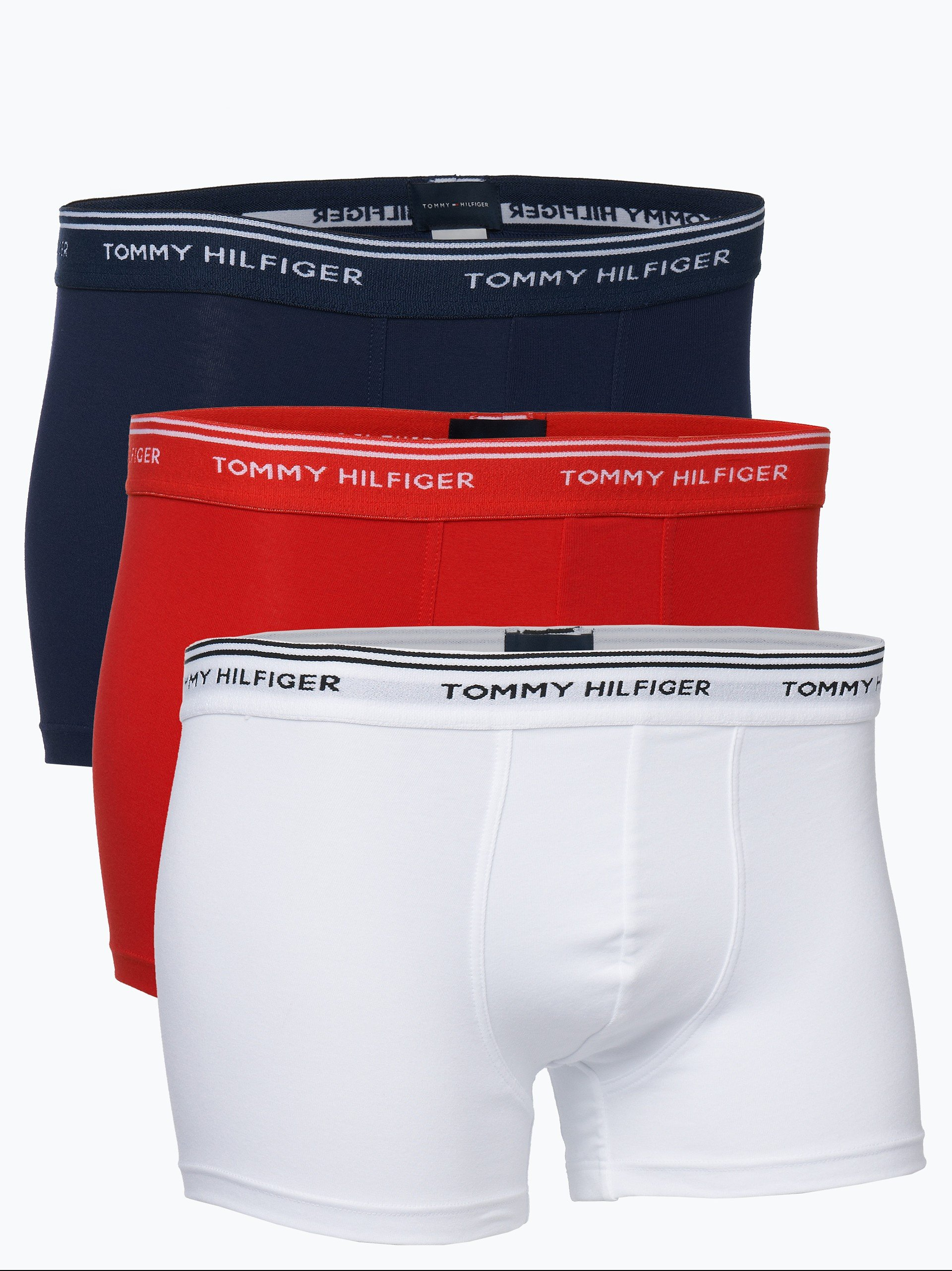 Tommy Hilfiger Herren Pants - Stretch Cotton im 3er-Pack