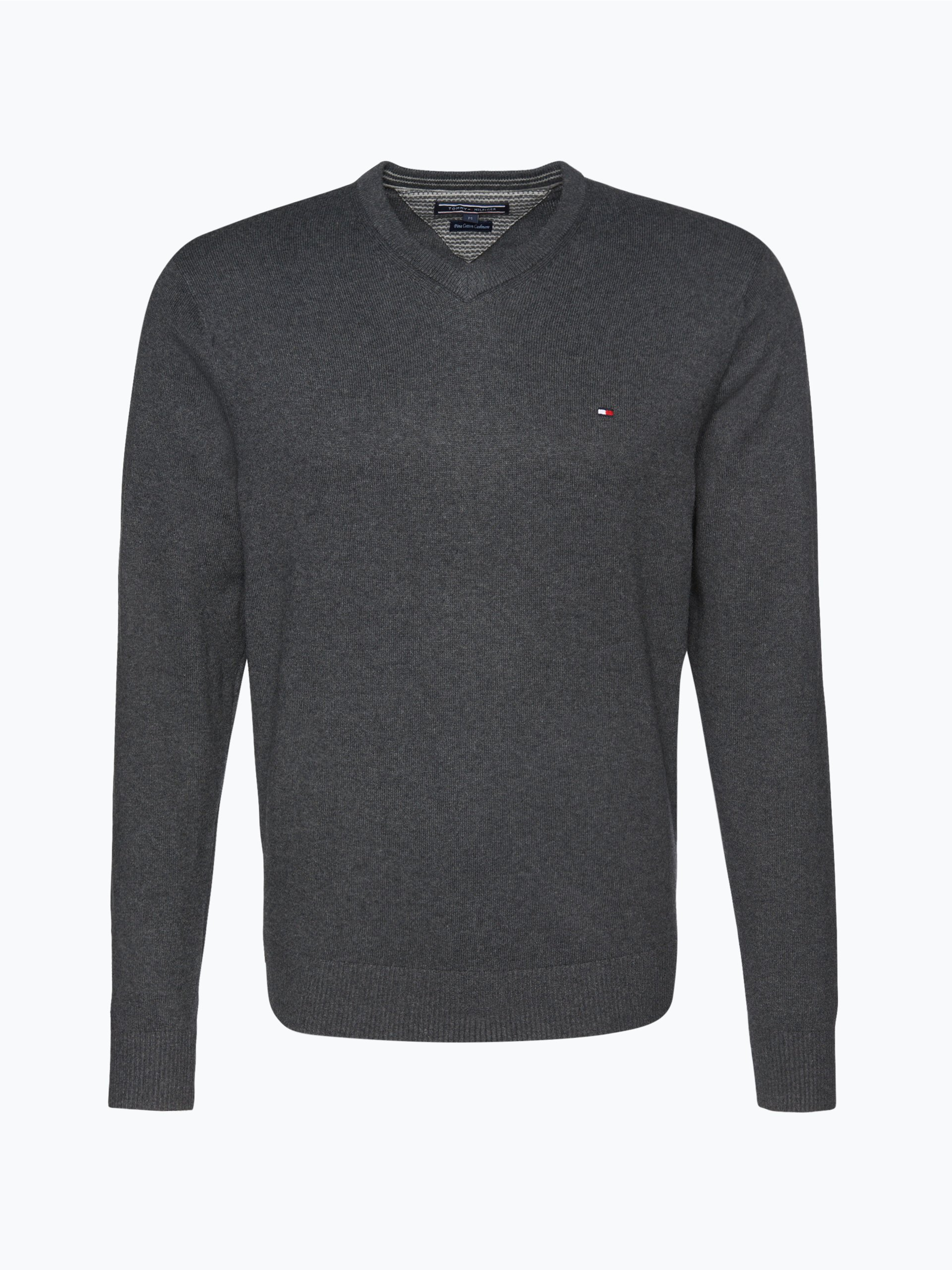 tommy hilfiger herren pullover mit cashmere anteil. Black Bedroom Furniture Sets. Home Design Ideas