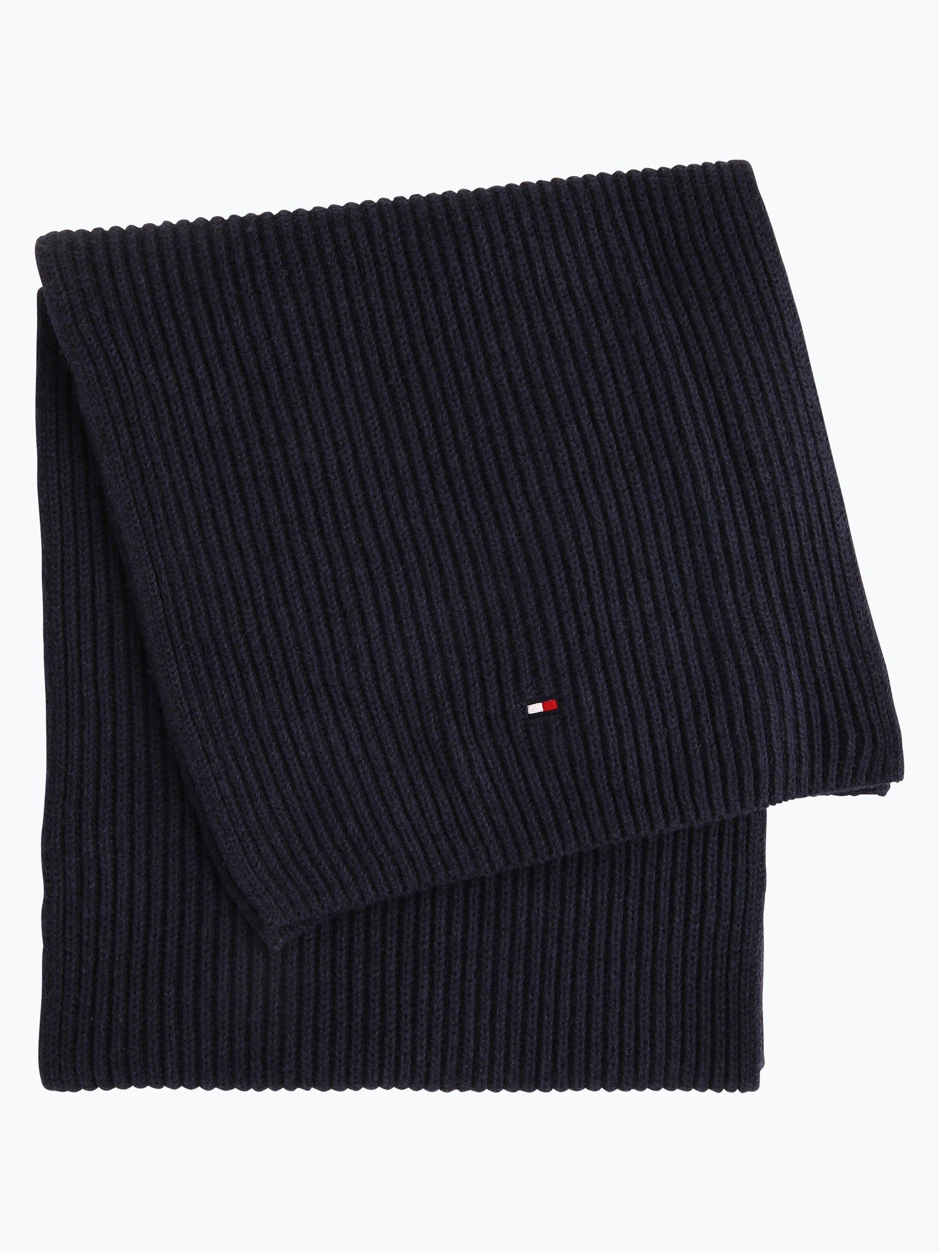 tommy hilfiger herren schal mit cashmere anteil blau. Black Bedroom Furniture Sets. Home Design Ideas