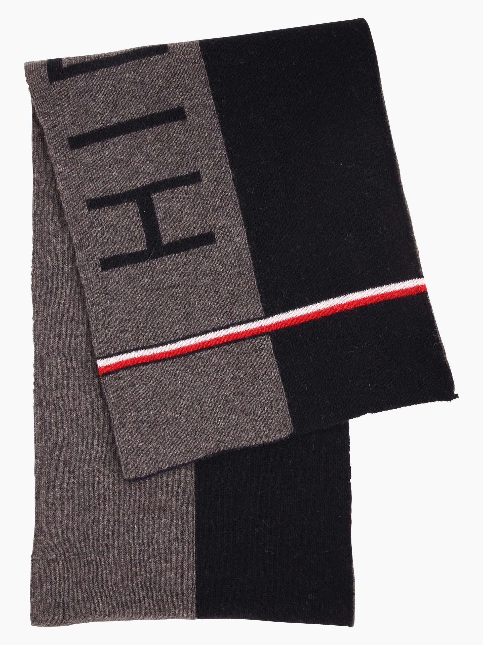 tommy hilfiger herren schal marine uni online kaufen. Black Bedroom Furniture Sets. Home Design Ideas