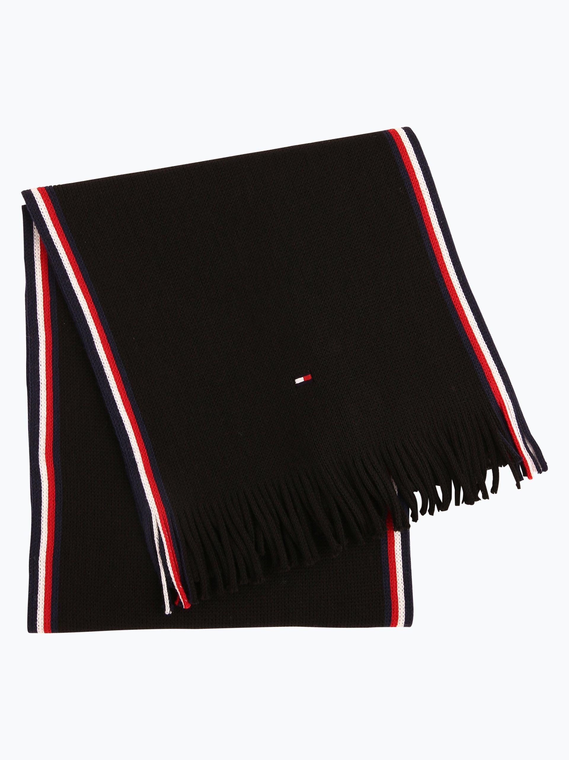 tommy hilfiger herren schal schwarz uni online kaufen. Black Bedroom Furniture Sets. Home Design Ideas