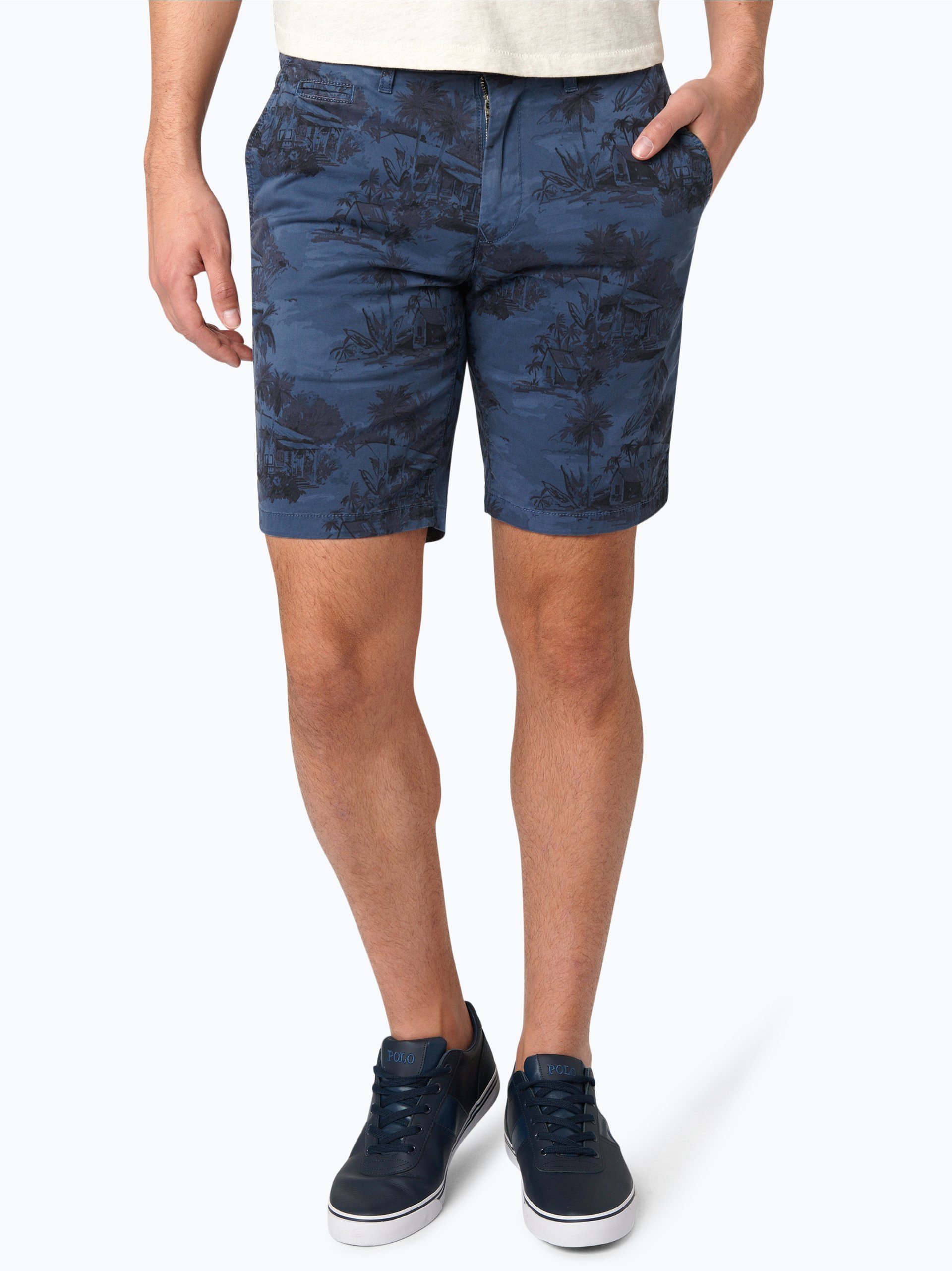 tommy hilfiger herren shorts denton blau gemustert online kaufen vangraaf com. Black Bedroom Furniture Sets. Home Design Ideas