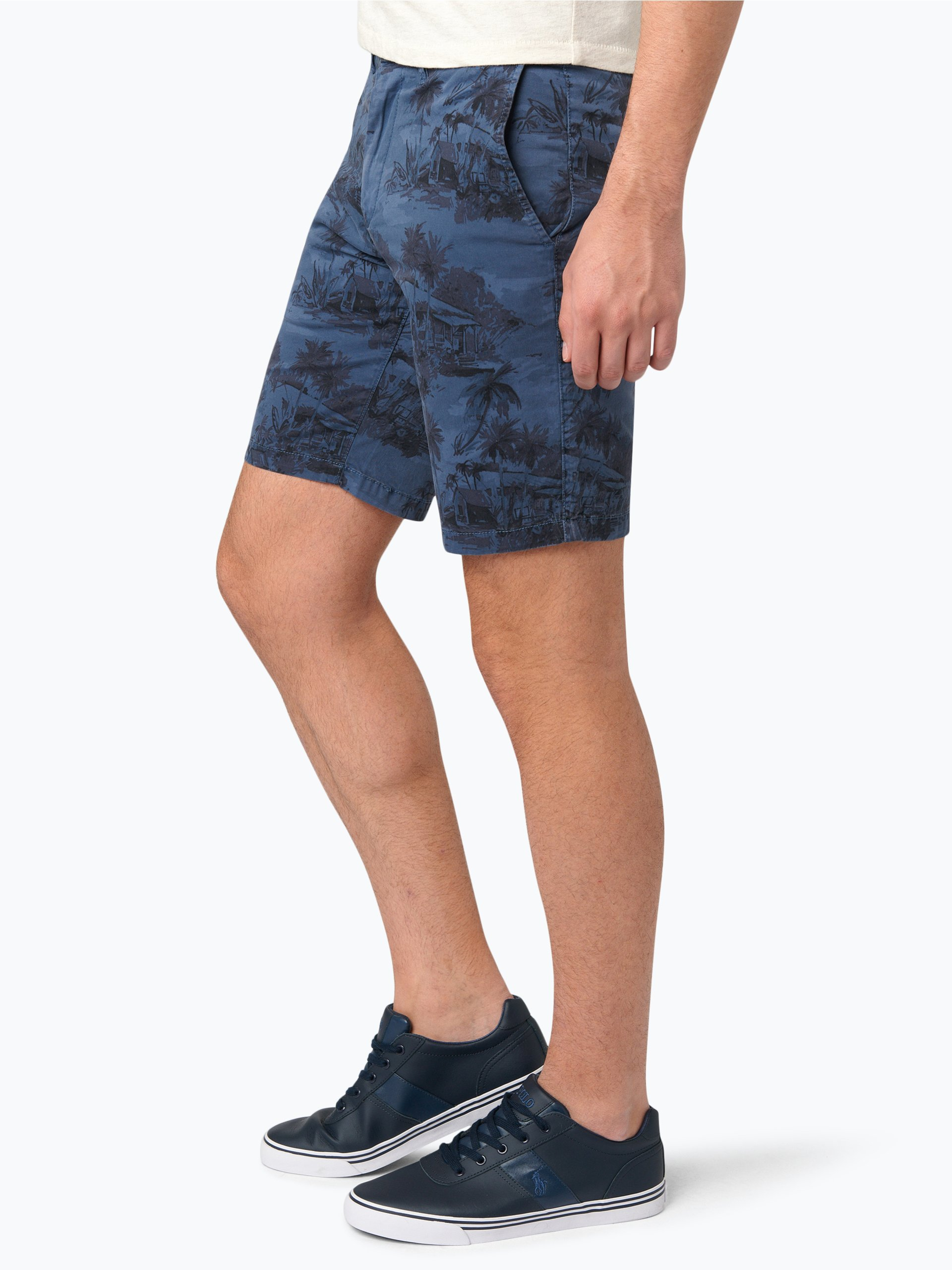 tommy hilfiger herren shorts denton blau gemustert. Black Bedroom Furniture Sets. Home Design Ideas