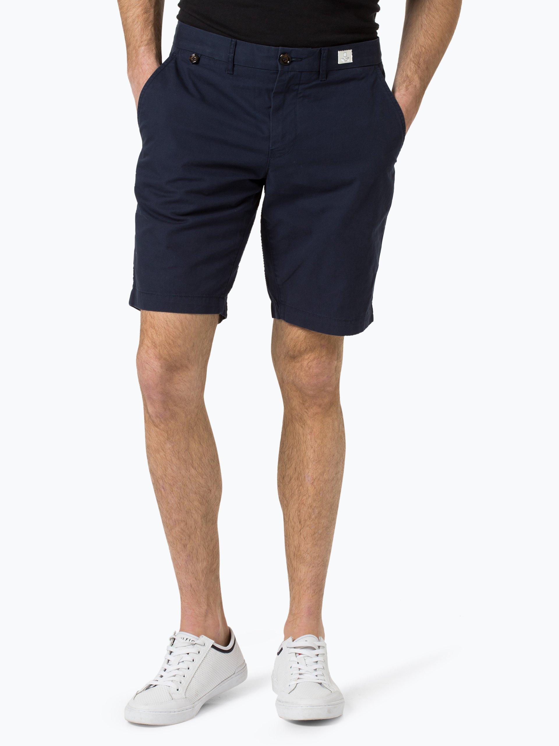 tommy hilfiger herren shorts marine uni online kaufen. Black Bedroom Furniture Sets. Home Design Ideas