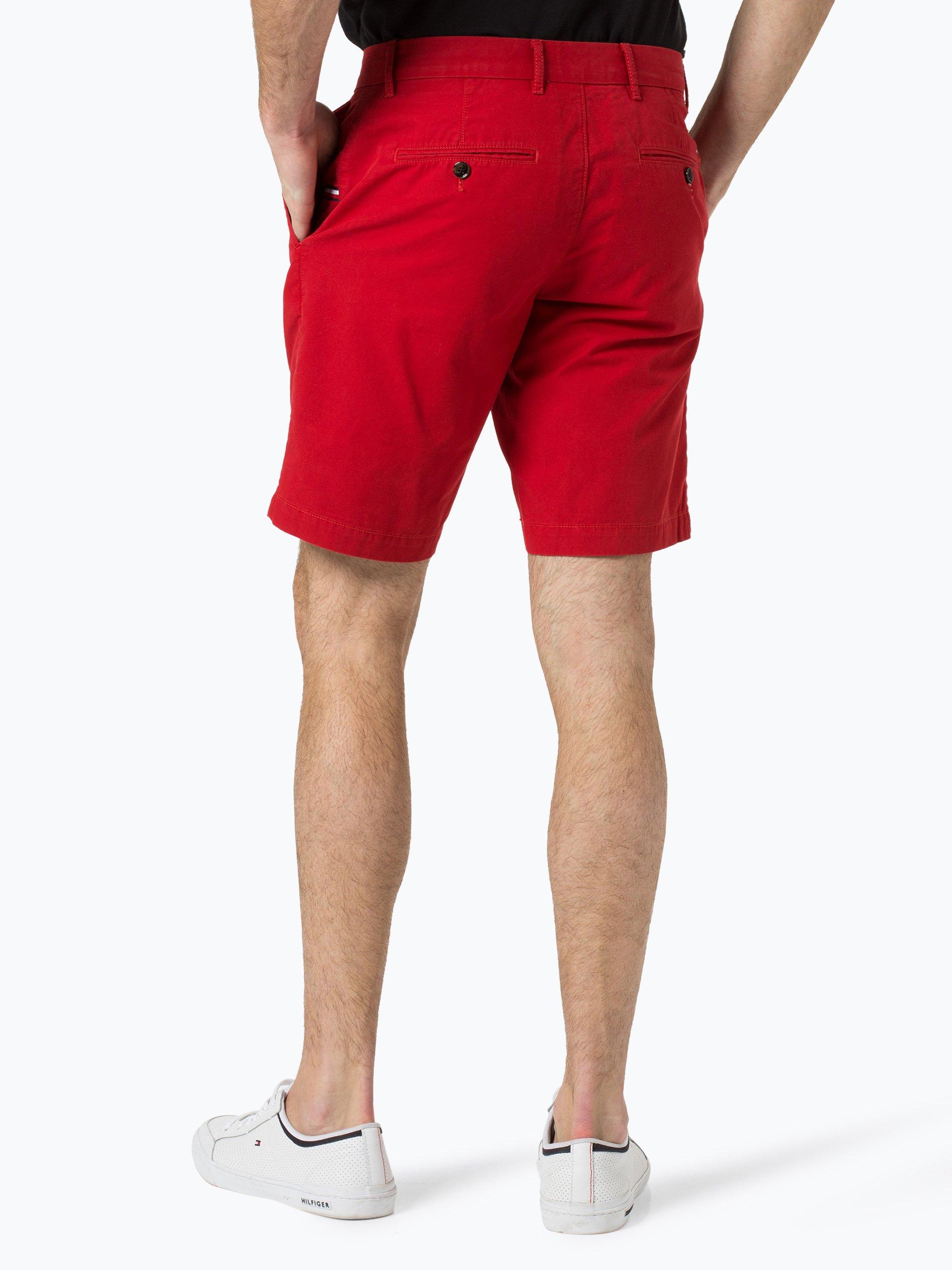 tommy hilfiger herren shorts rot uni online kaufen