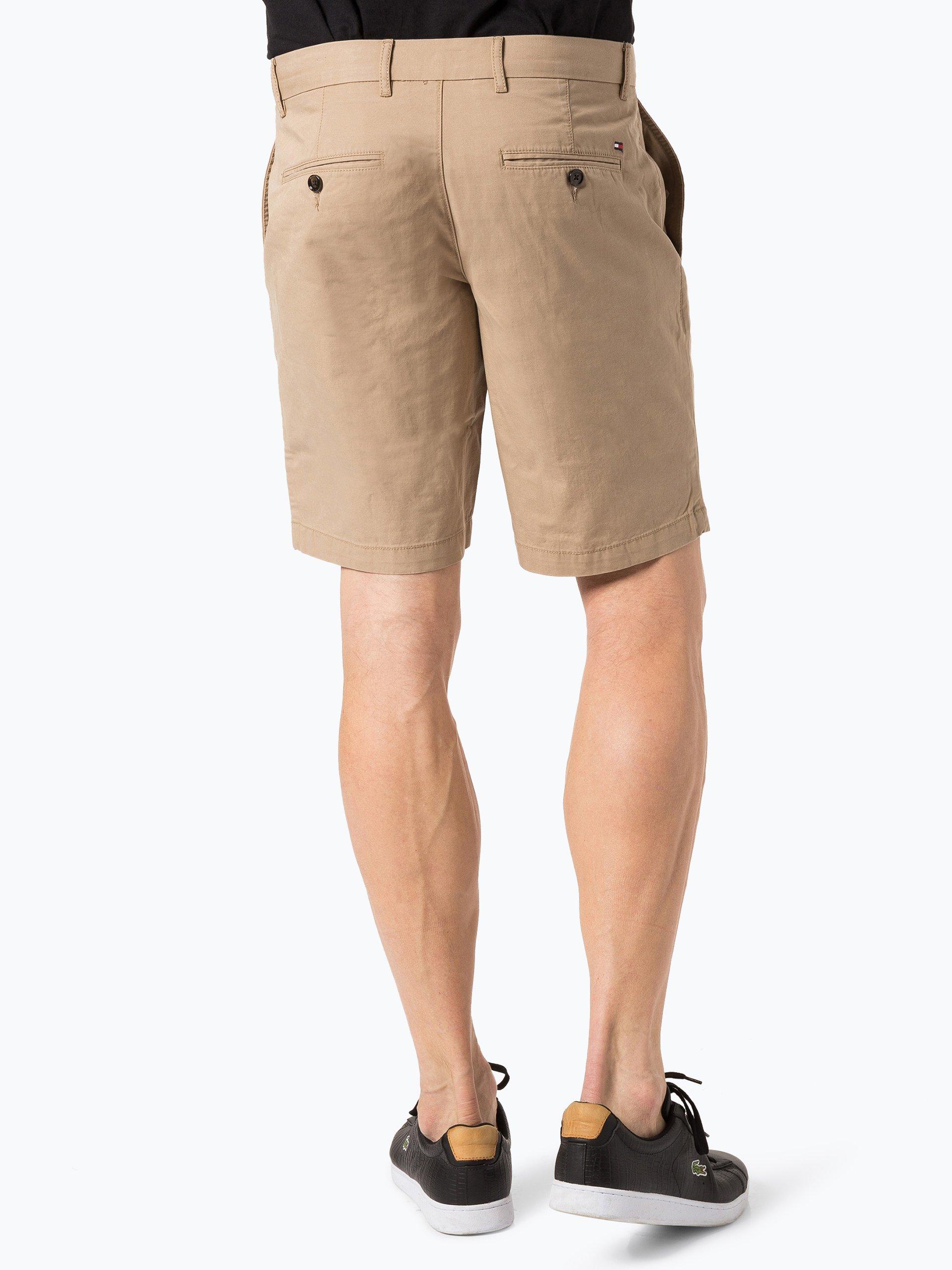 tommy hilfiger herren shorts beige uni online kaufen peek und cloppenburg de. Black Bedroom Furniture Sets. Home Design Ideas