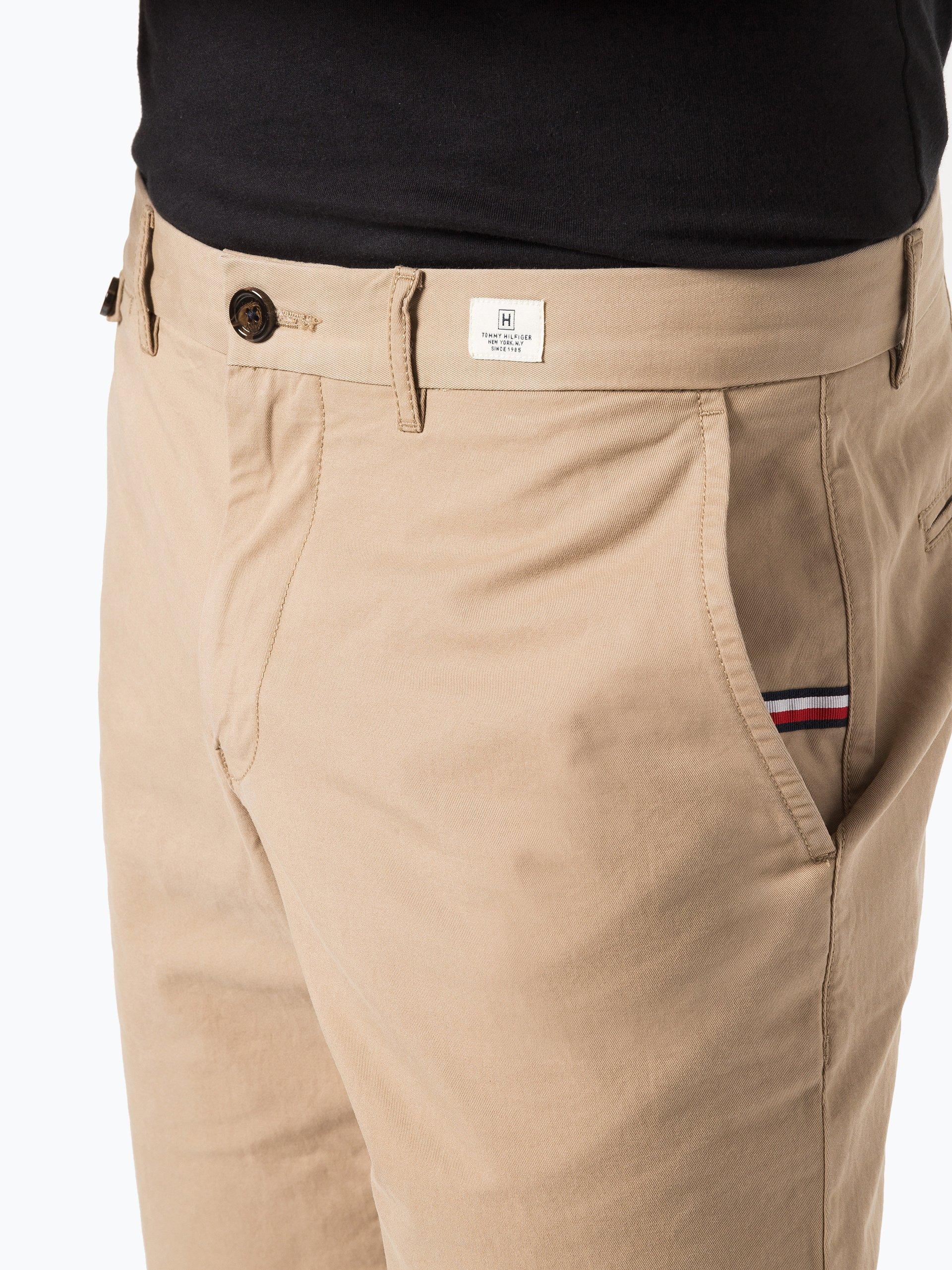 tommy hilfiger herren shorts khaki beige uni online kaufen. Black Bedroom Furniture Sets. Home Design Ideas