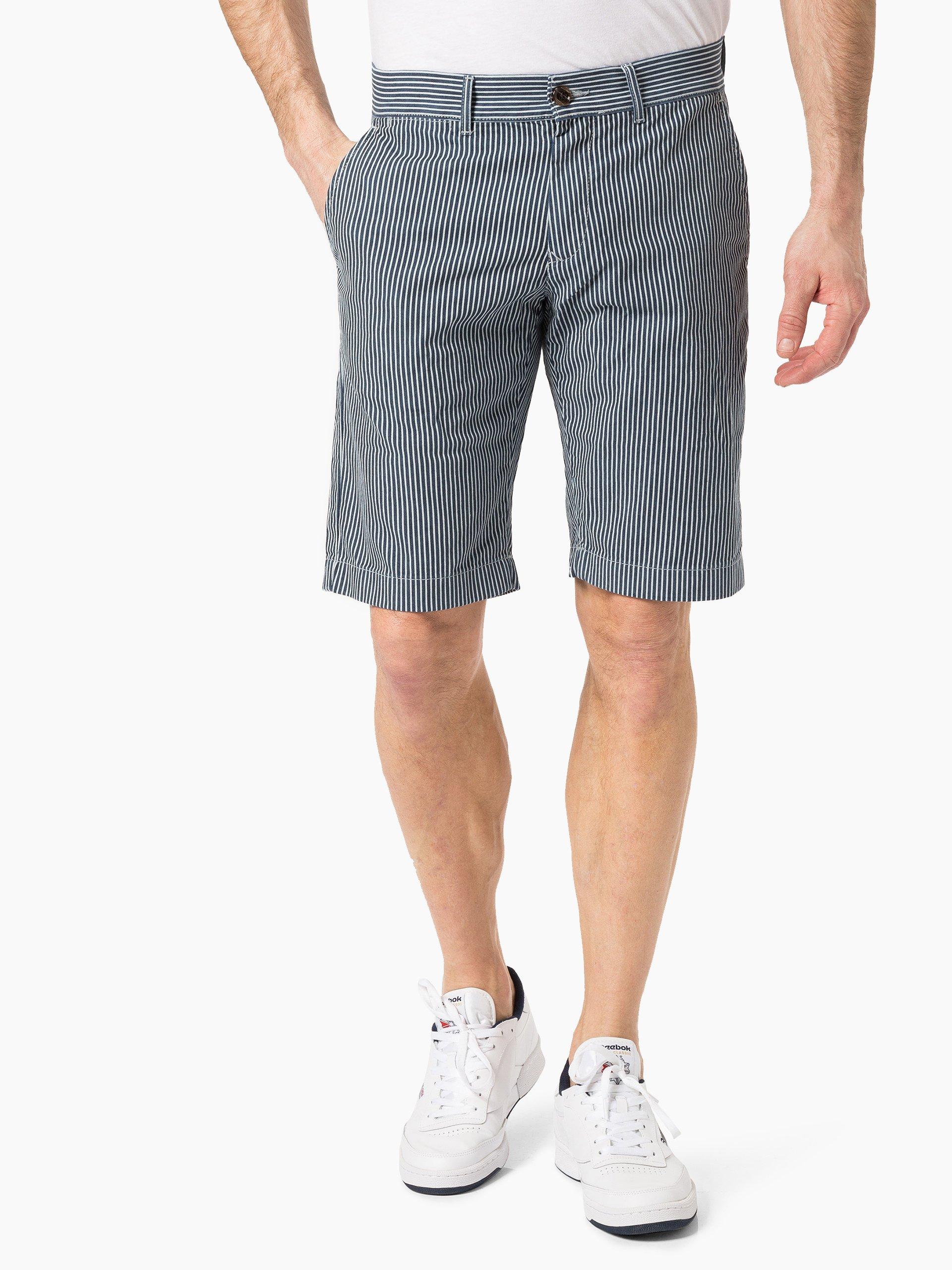 tommy hilfiger herren shorts marine gestreift online kaufen peek und cloppenburg de. Black Bedroom Furniture Sets. Home Design Ideas