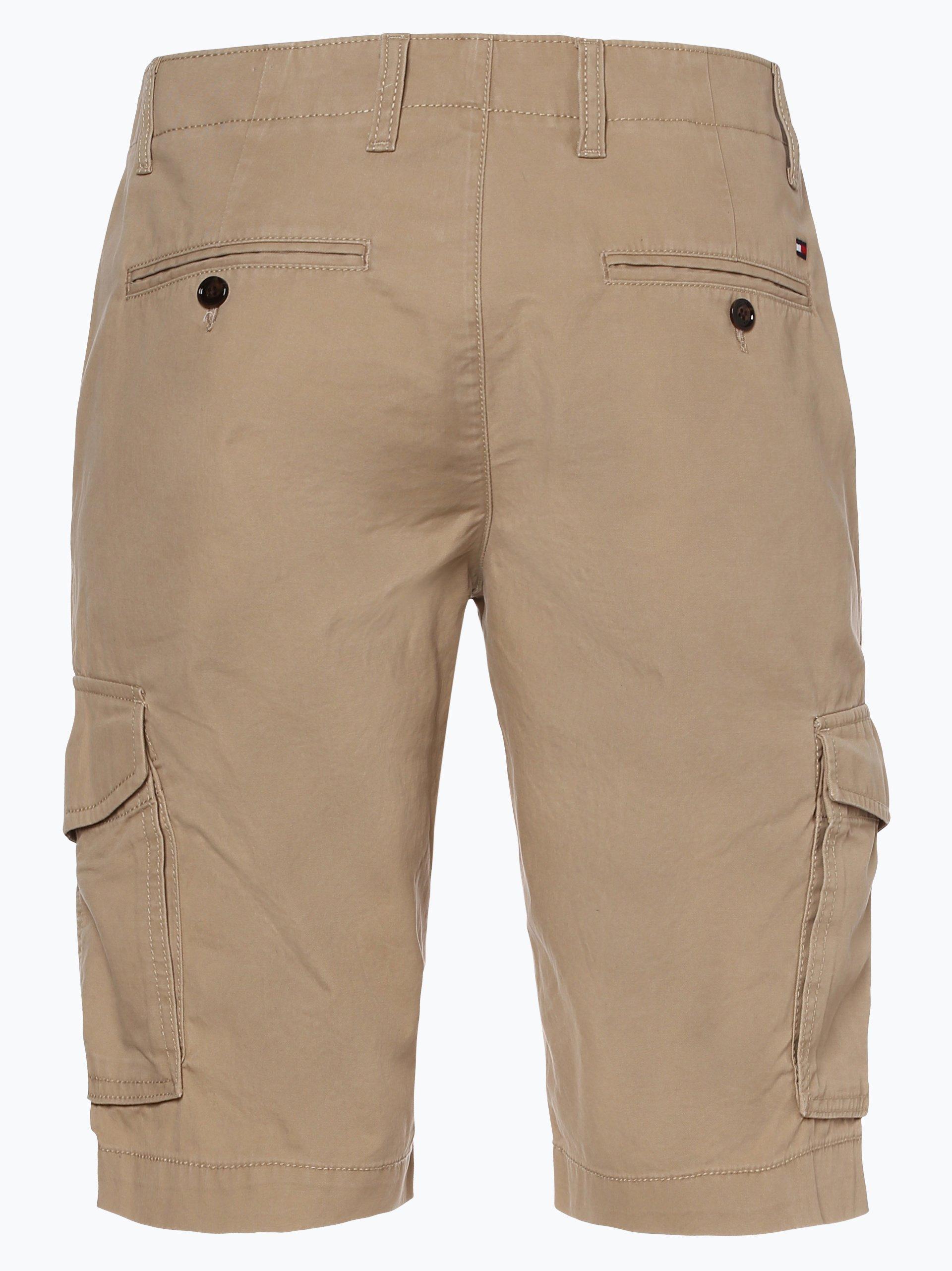 tommy hilfiger herren shorts beige uni online kaufen. Black Bedroom Furniture Sets. Home Design Ideas