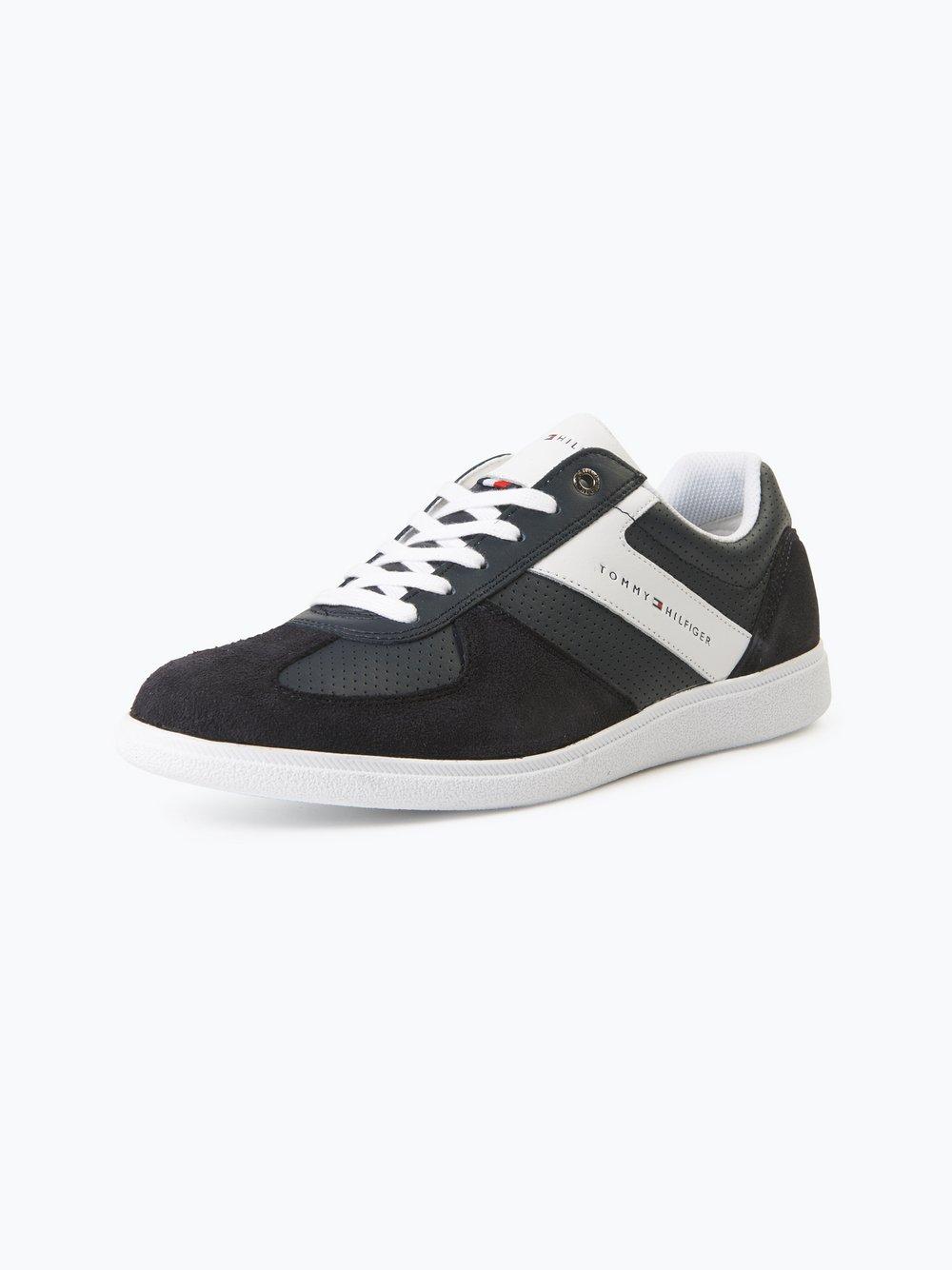 Tommy Hilfiger Herren Sneaker aus Leder - Danny marine uni online ... 9ea297723c