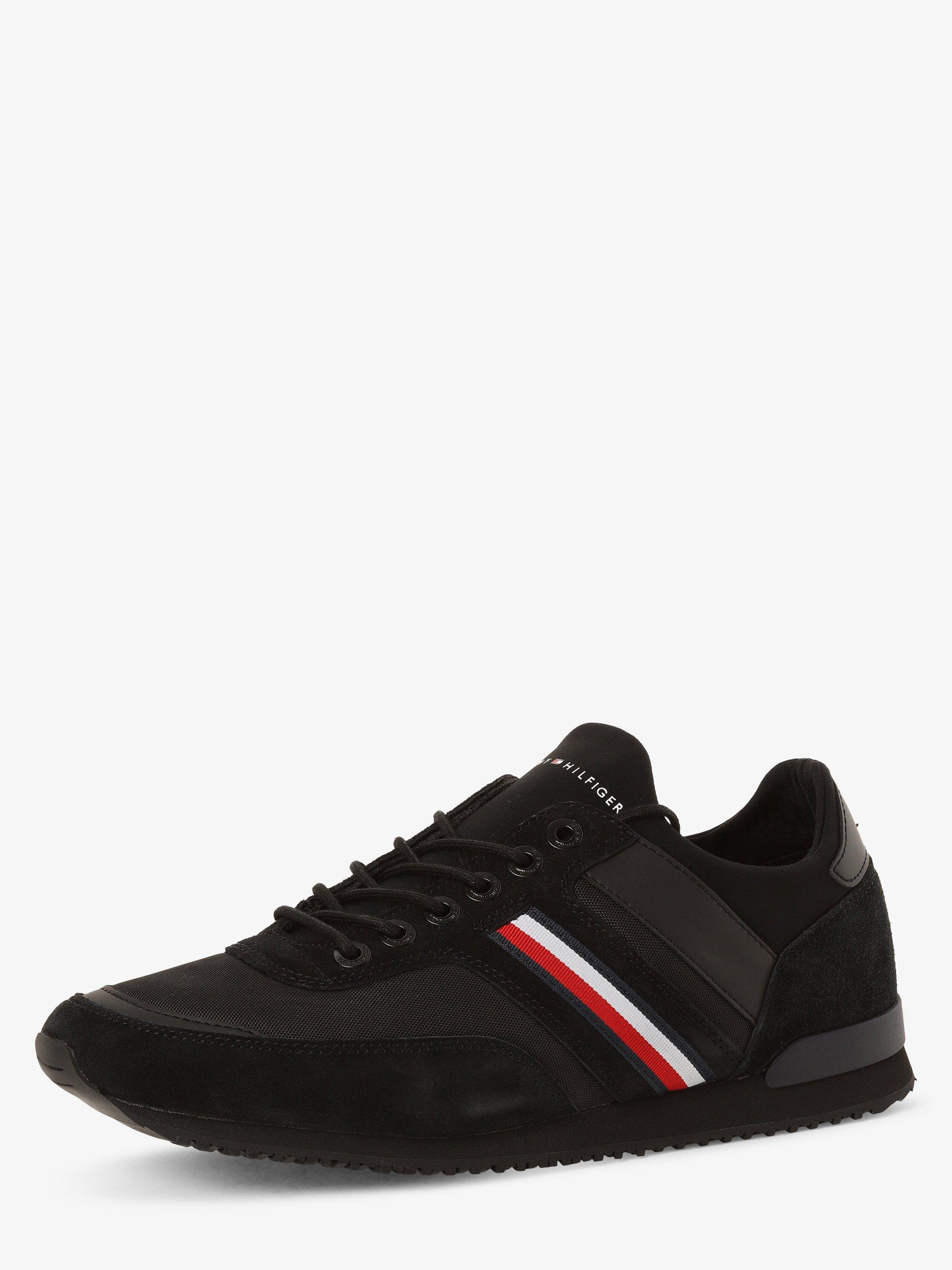 Tommy Hilfiger Herren Sneaker mit Leder-Anteil - Iconic Sock Runner