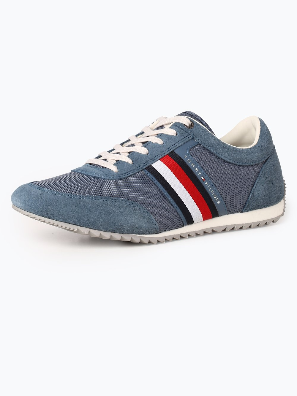 Tommy Hilfiger Herren Sneaker mit Leder-Anteil indigo uni online ... e17236d102