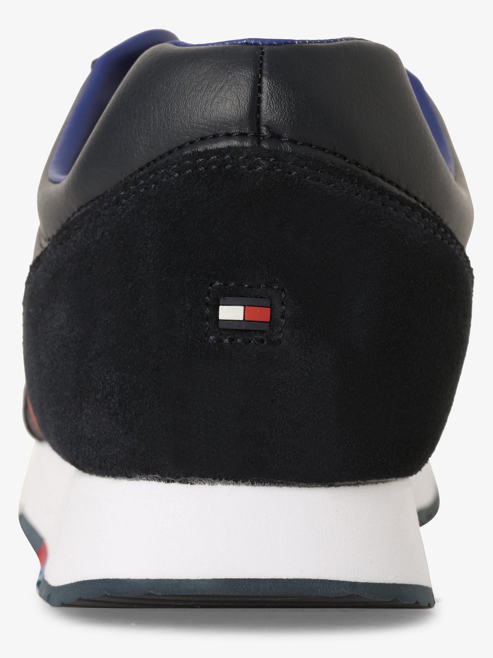 Tommy Hilfiger Herren Sneaker mit Leder-Anteil