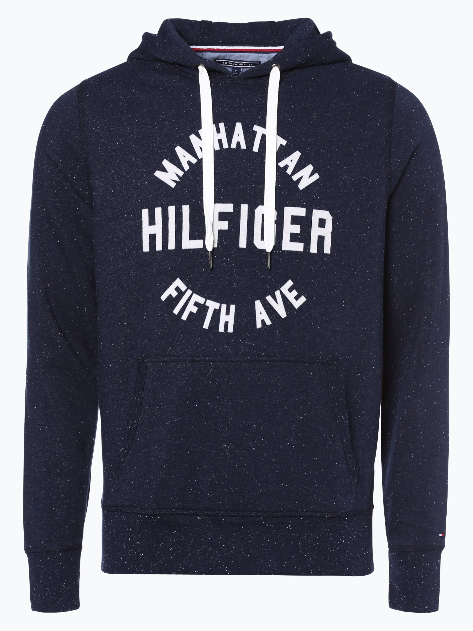 tommy hilfiger herren sweatshirt marine gemustert online kaufen vangraaf com. Black Bedroom Furniture Sets. Home Design Ideas