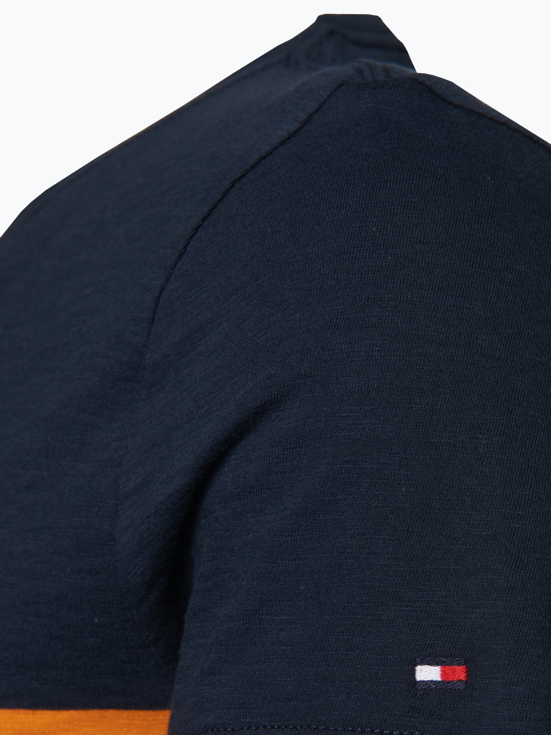 tommy hilfiger herren t shirt eddy marine uni online. Black Bedroom Furniture Sets. Home Design Ideas