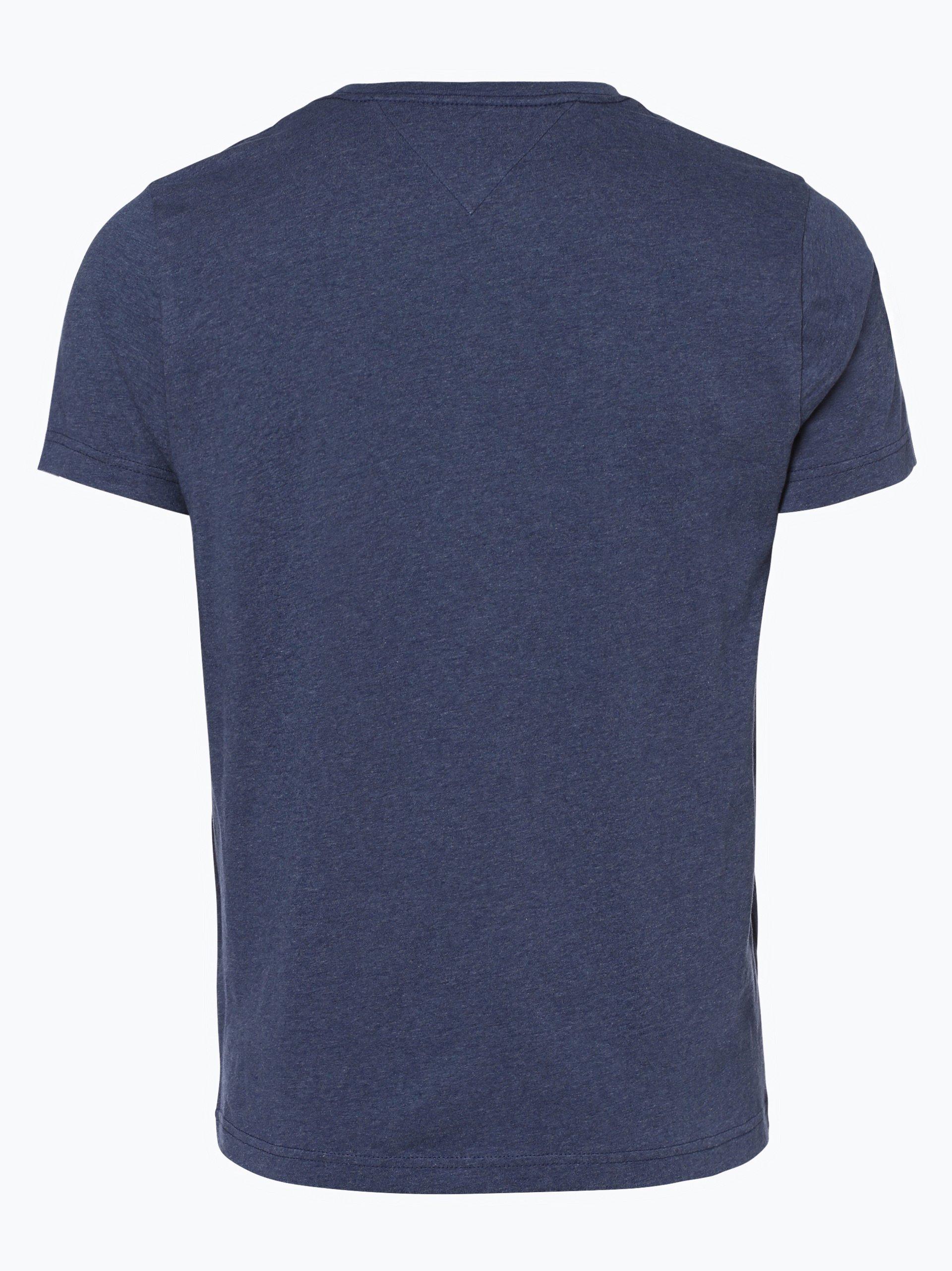 tommy hilfiger herren t shirt owen indigo bedruckt online kaufen vangraaf com. Black Bedroom Furniture Sets. Home Design Ideas