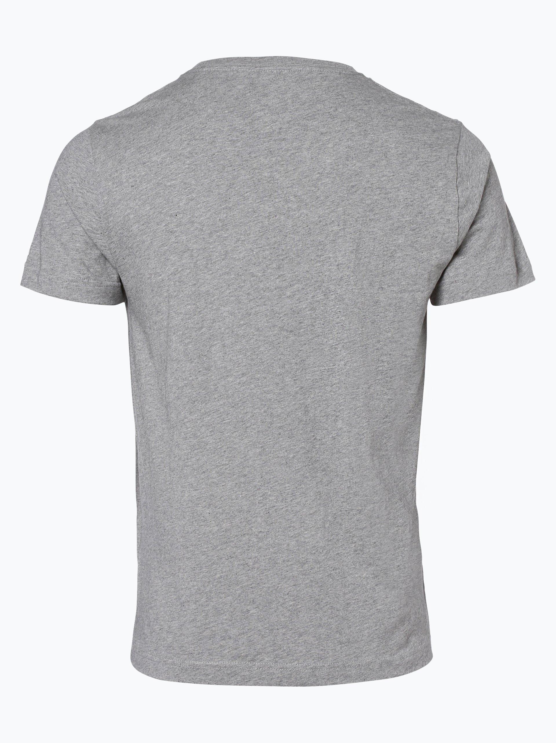 tommy hilfiger herren t shirt owen grau bedruckt online kaufen vangraaf com. Black Bedroom Furniture Sets. Home Design Ideas