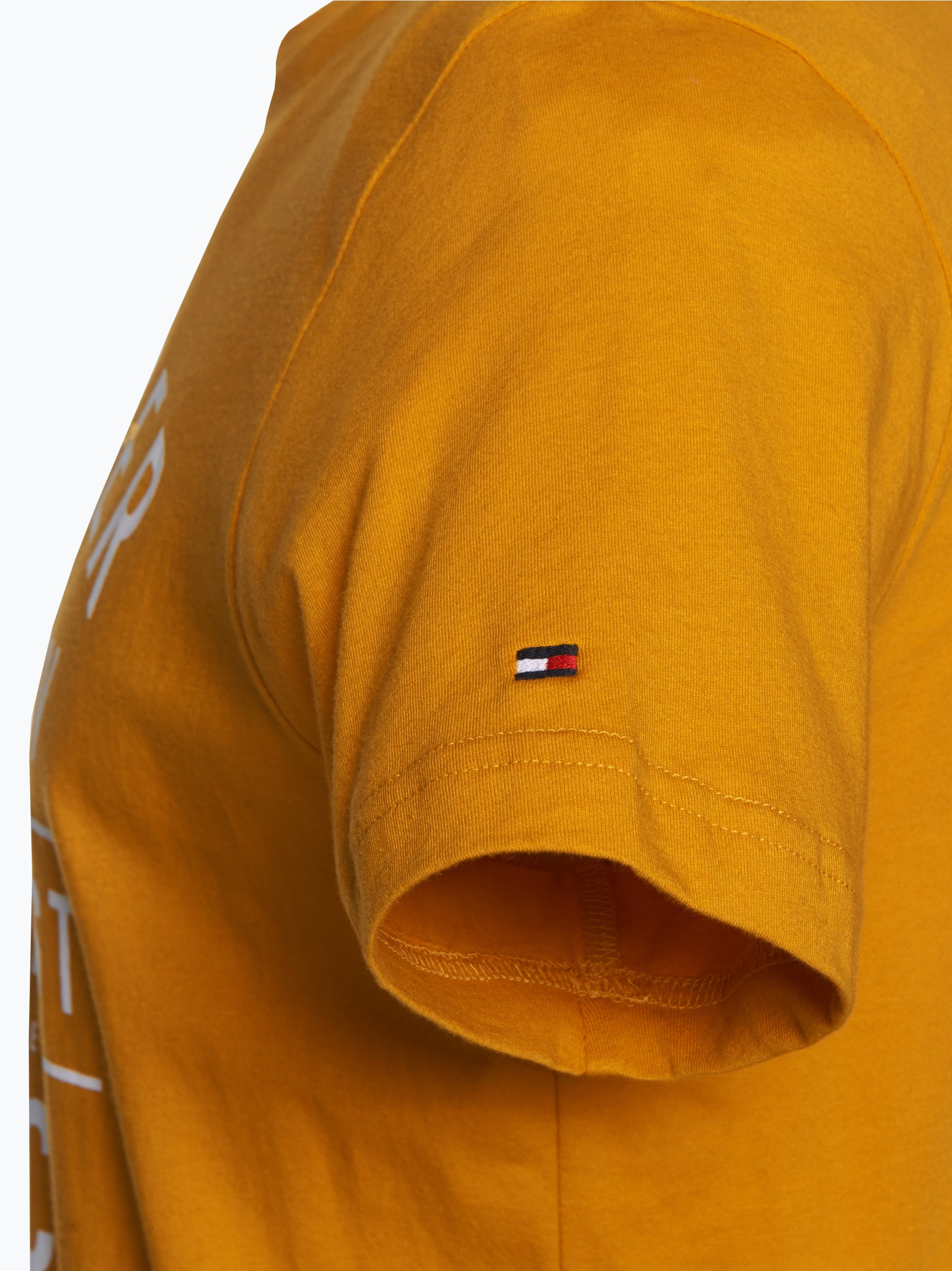 tommy hilfiger herren t shirt ryan gelb gemustert online. Black Bedroom Furniture Sets. Home Design Ideas