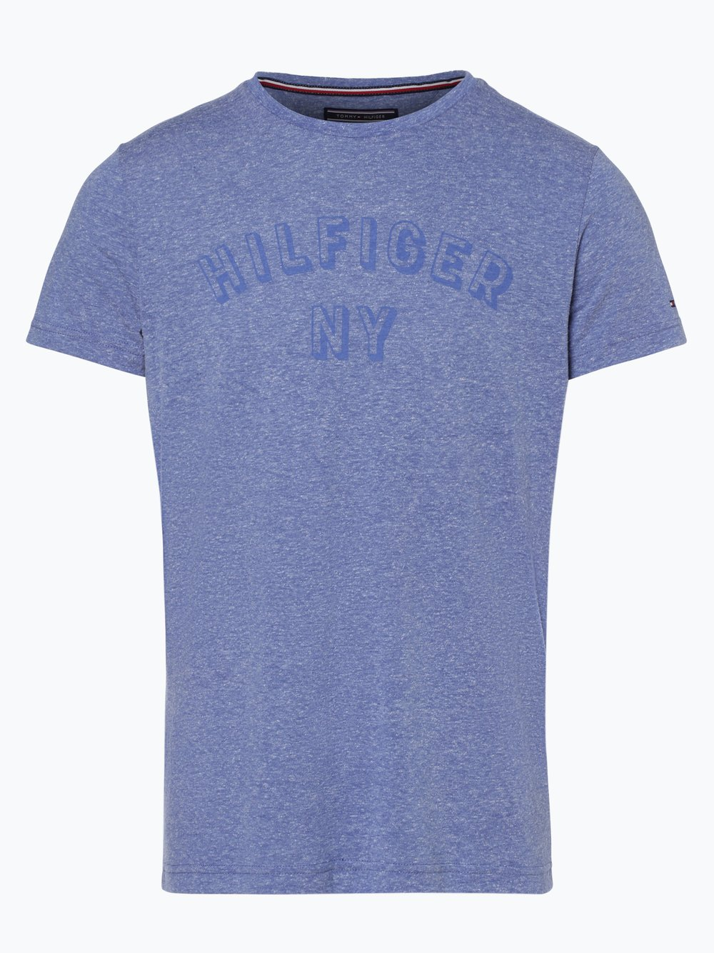 Tommy Hilfiger Herren T-Shirt blau gemustert online kaufen   PEEK ... 02a67ffceb
