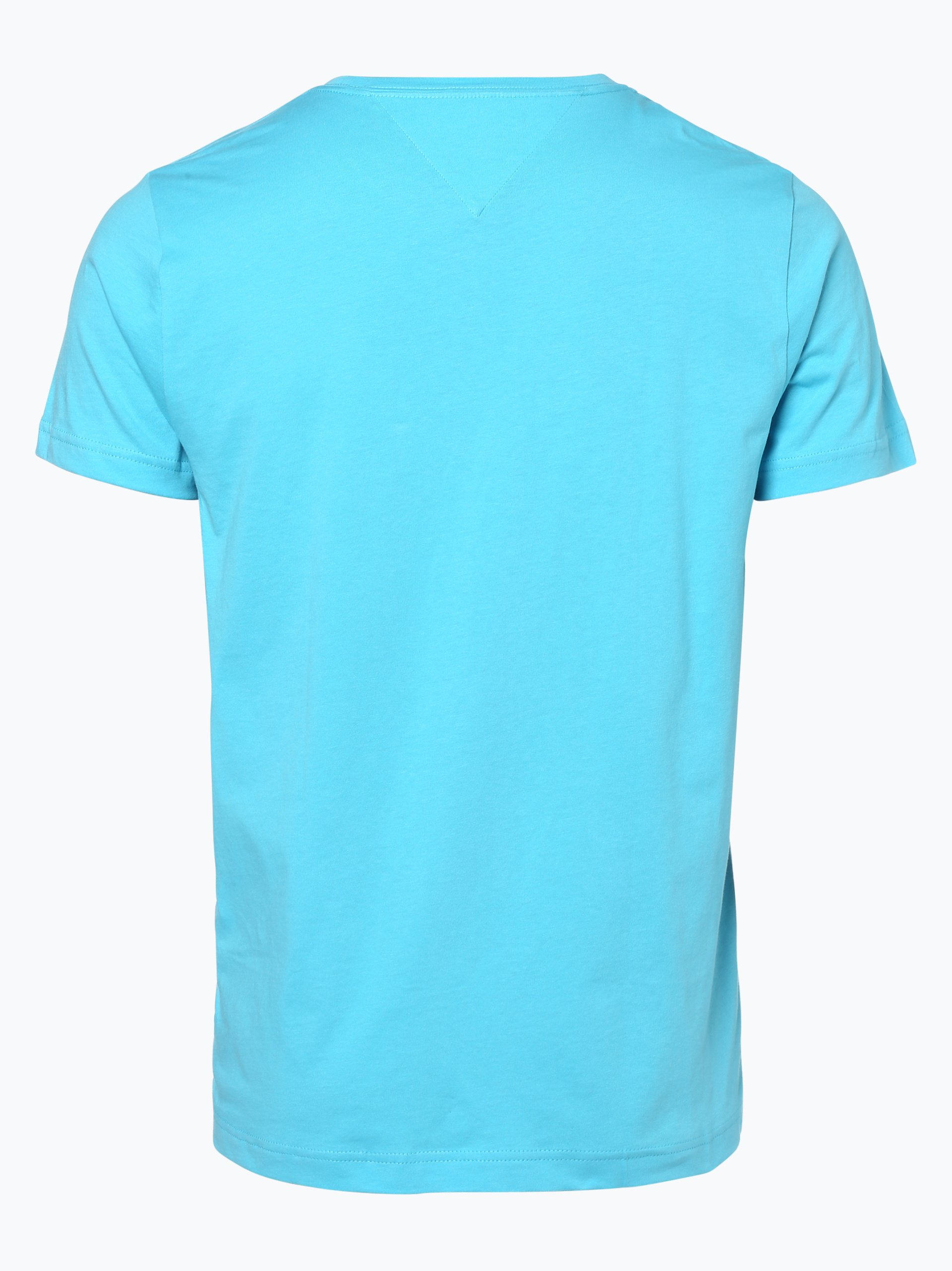 tommy hilfiger herren t shirt hellblau bedruckt online kaufen vangraaf com. Black Bedroom Furniture Sets. Home Design Ideas