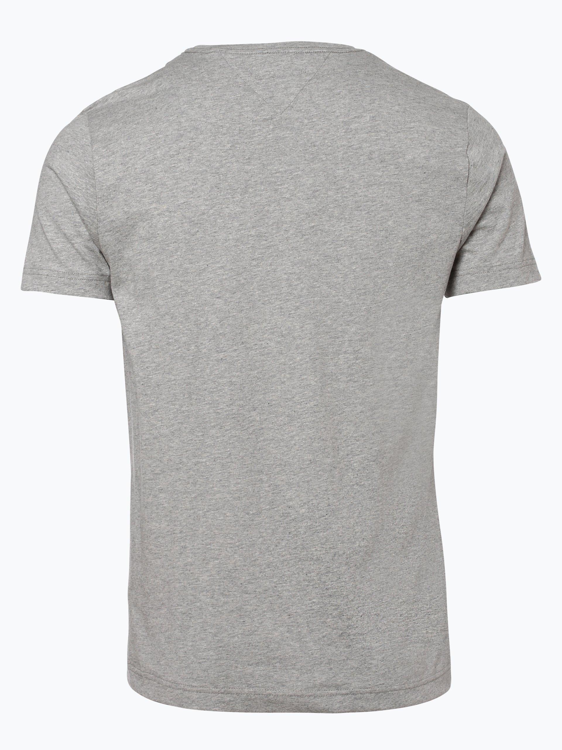 tommy hilfiger herren t shirt grau gemustert online kaufen. Black Bedroom Furniture Sets. Home Design Ideas