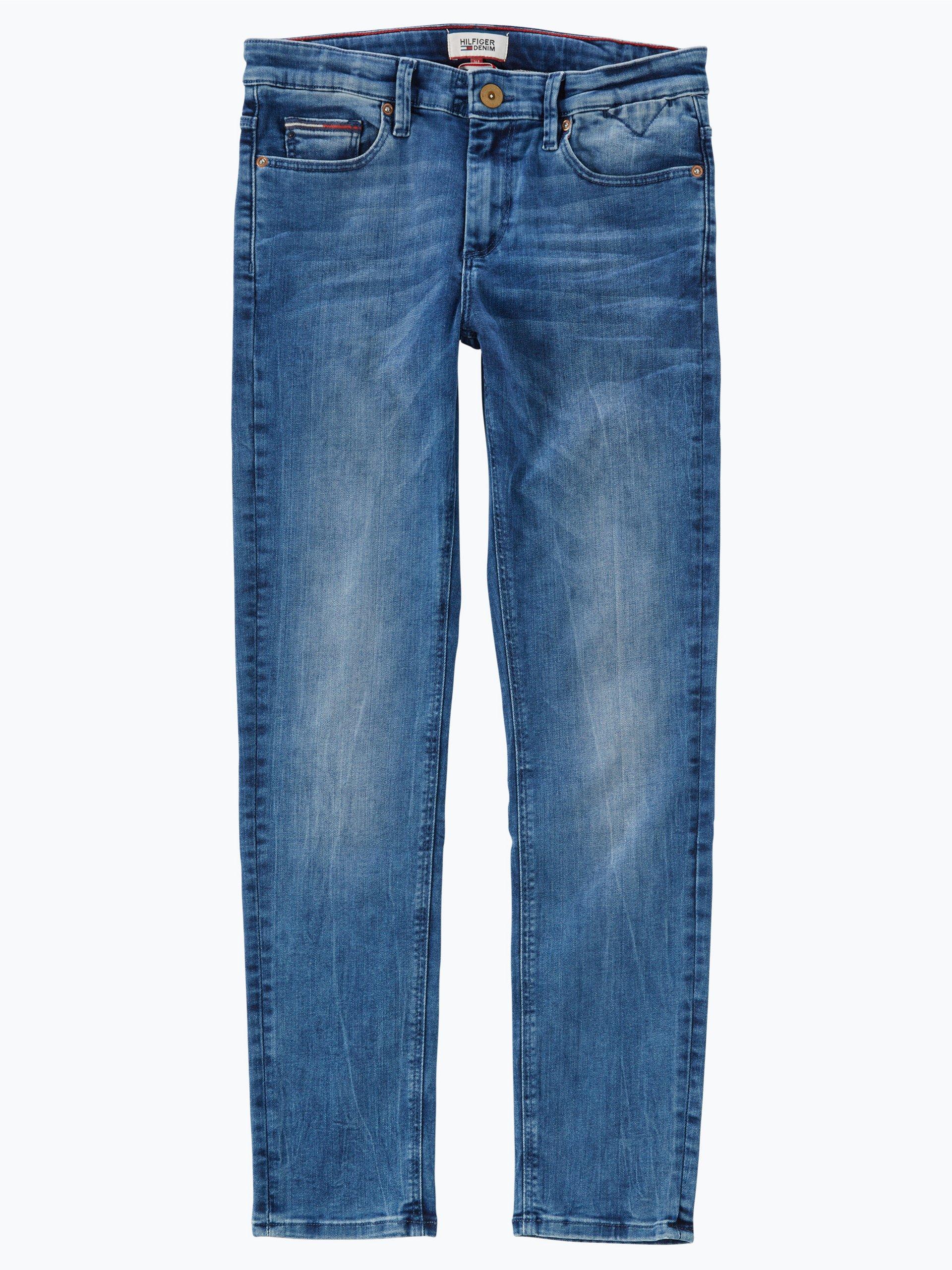 tommy hilfiger jungen jeans scanton slim indigo uni. Black Bedroom Furniture Sets. Home Design Ideas