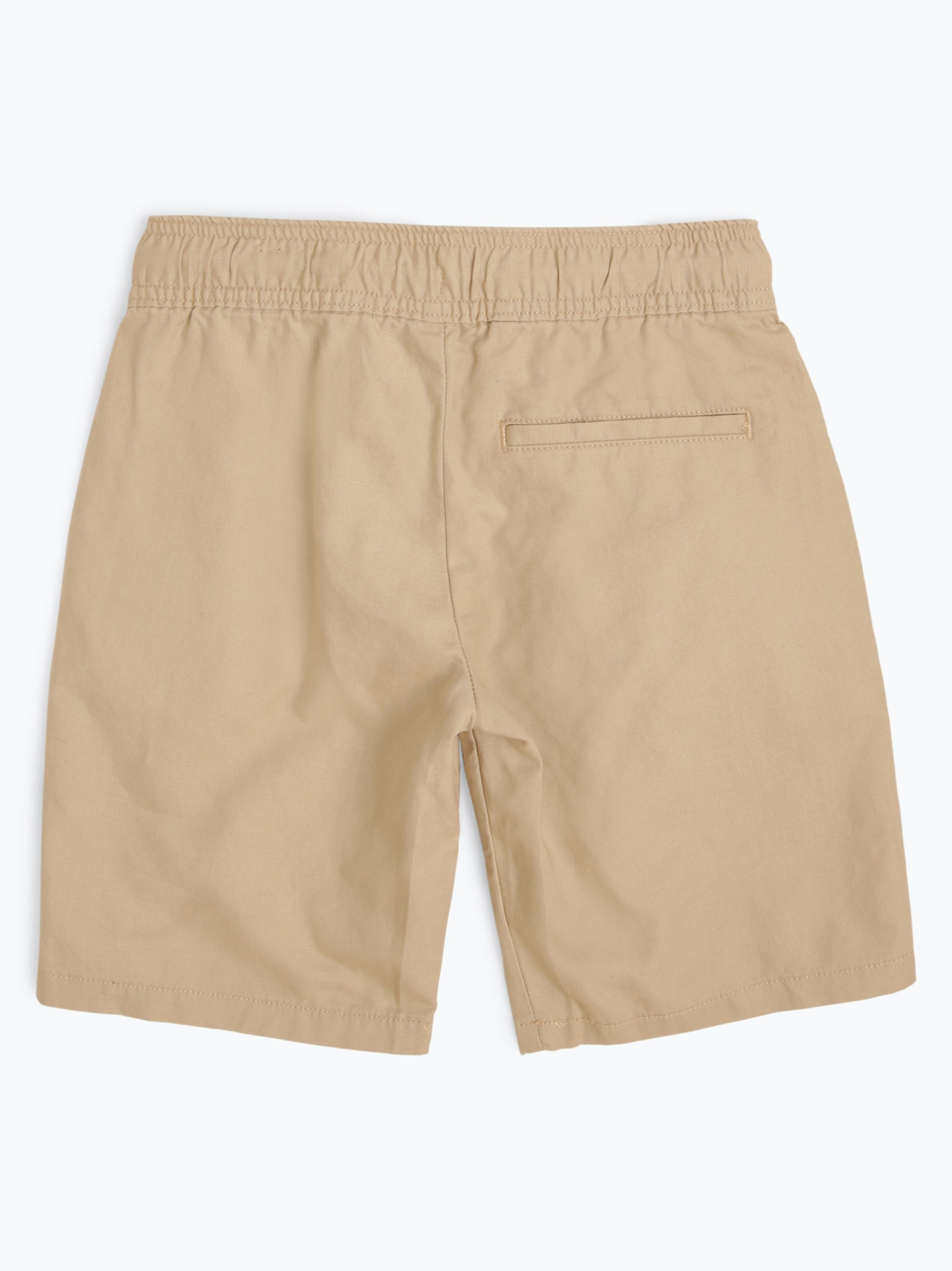 Tommy Hilfiger Jungen Shorts mit Leinen-Anteil
