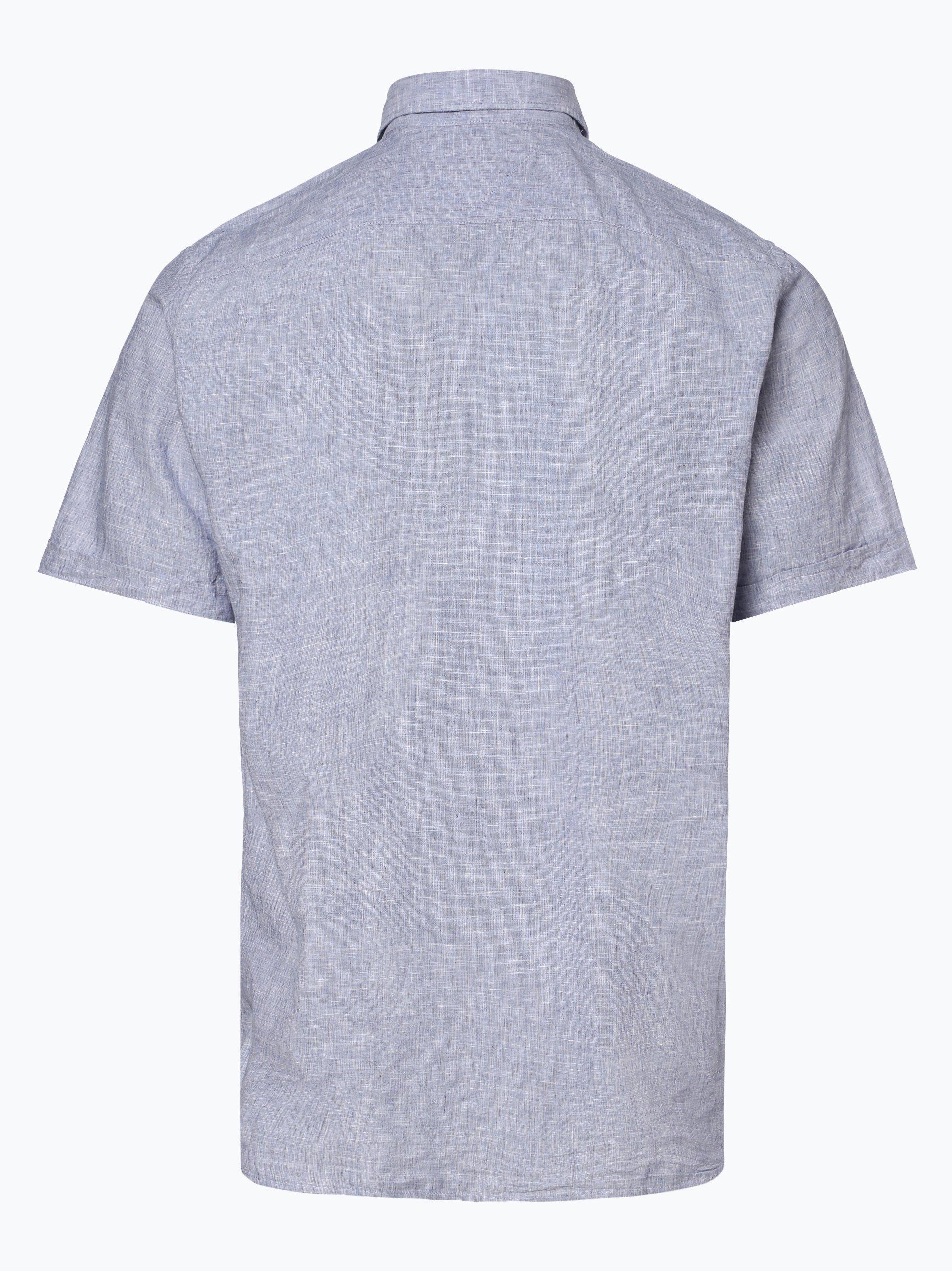 Tommy Hilfiger Męska koszula z dodatkiem lnu