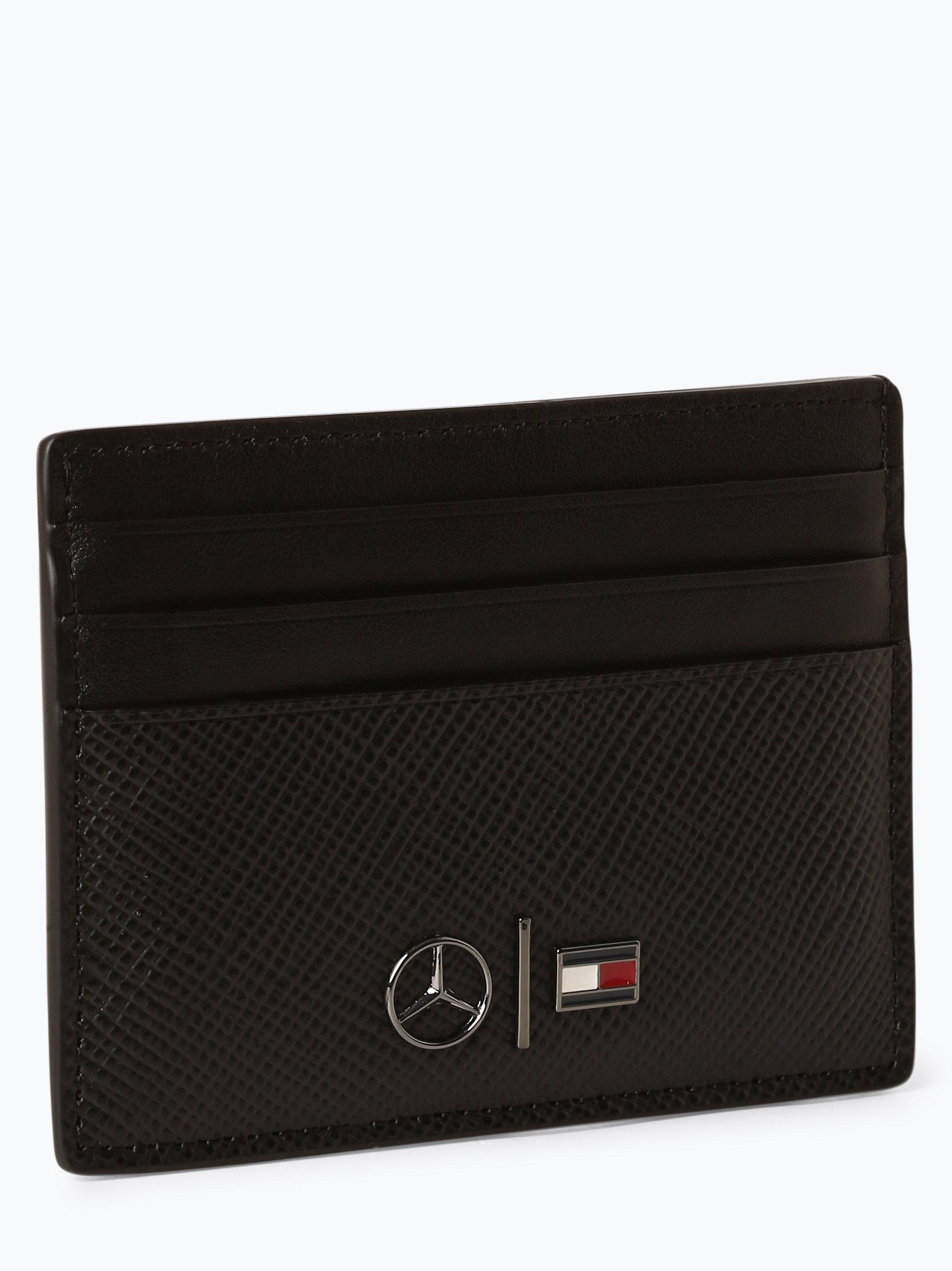 Tommy Hilfiger Męskie etui na karty Mercedes Benz ze skóry