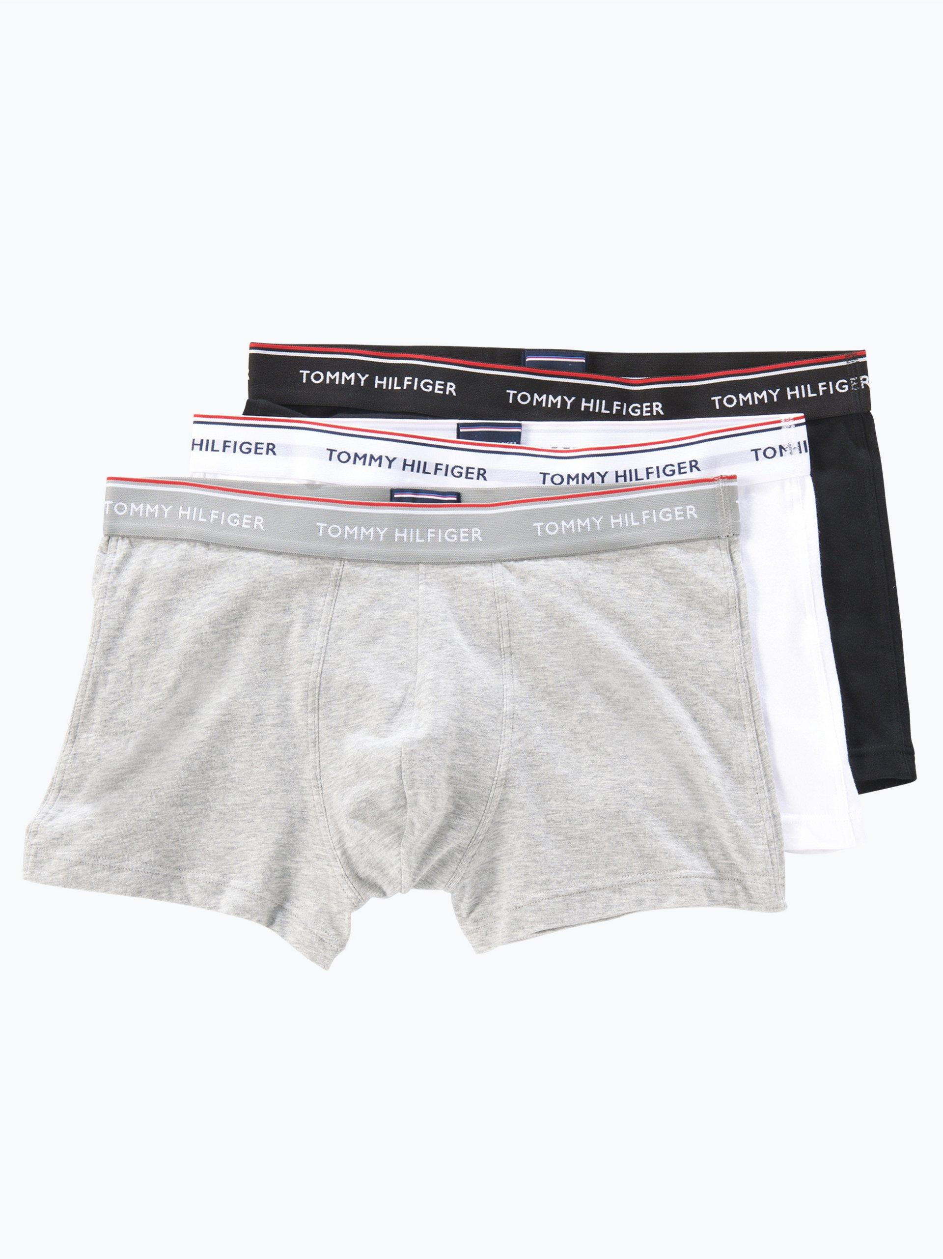 Tommy Hilfiger Obcisłe bokserki męskie – bawełna ze stretchem pakowane po 3 szt.