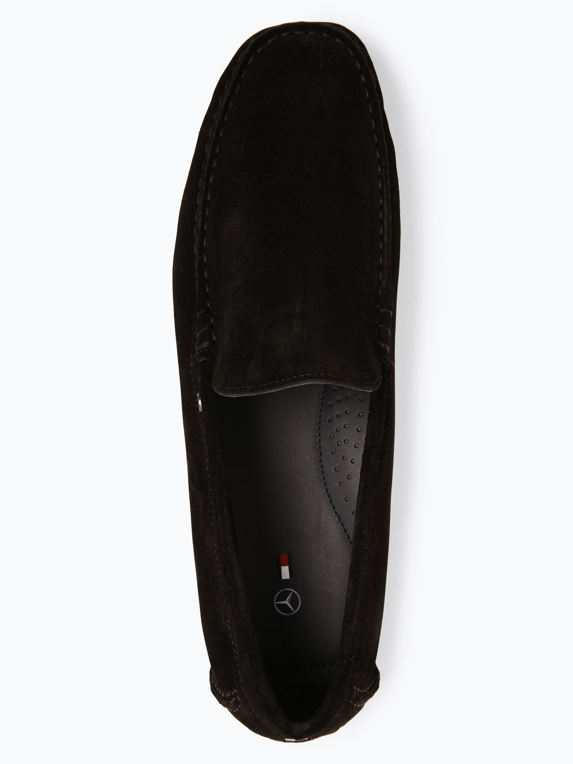 Tommy Hilfiger Pantofle męskie ze skóry