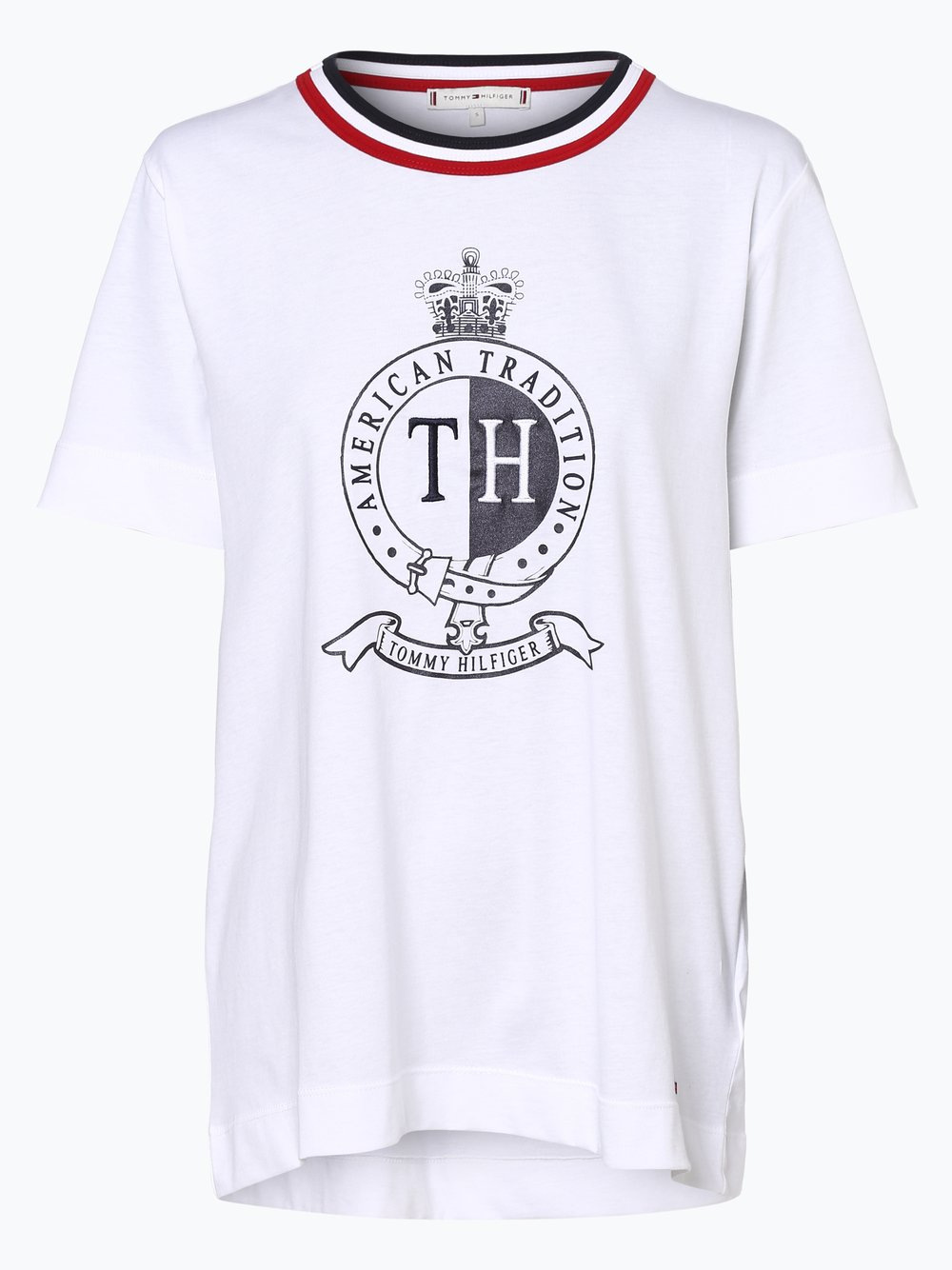 9e5d6a0b7 Tommy Hilfiger T-shirt damski kup online | VANGRAAF.COM