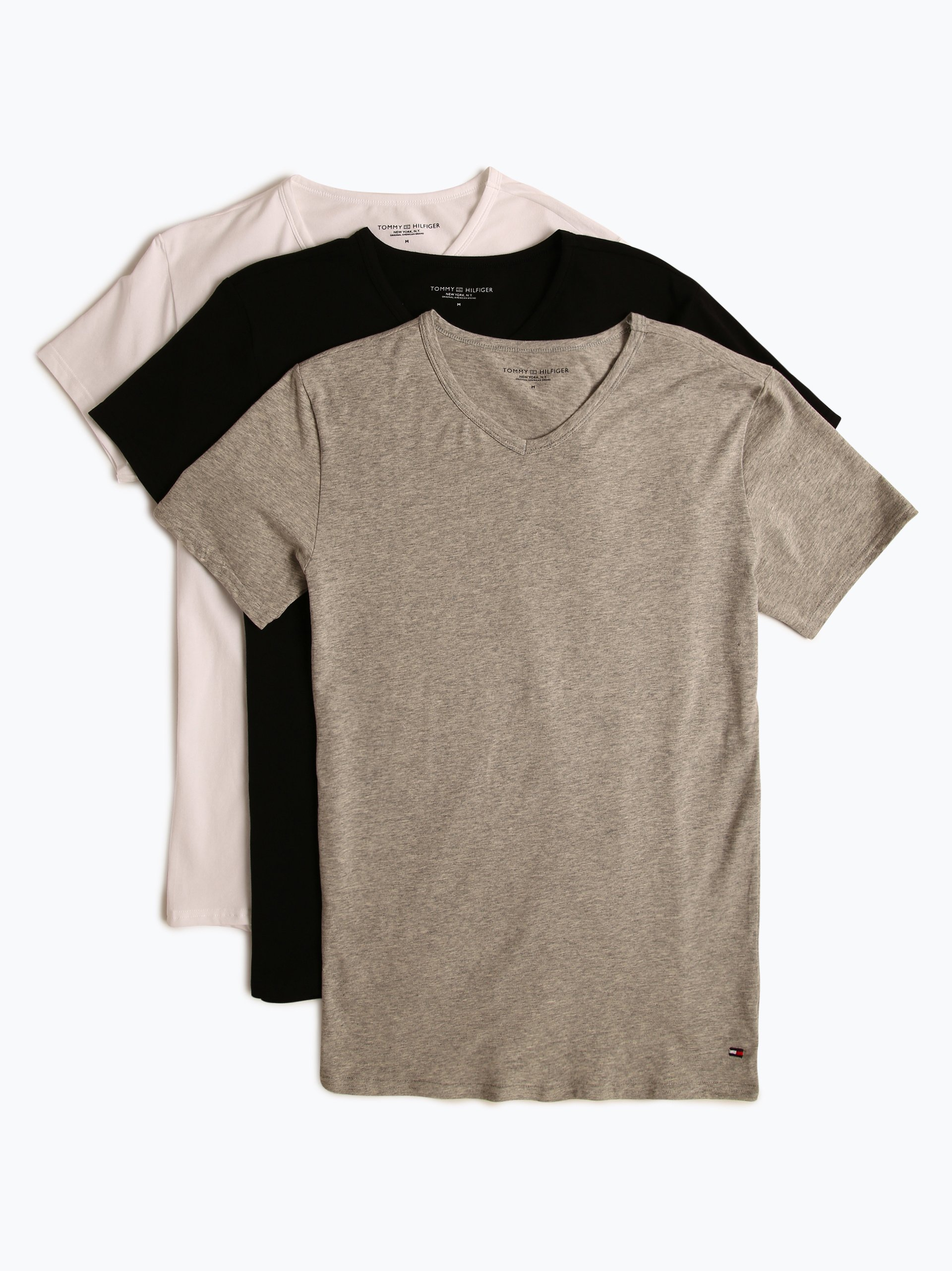 Tommy Hilfiger T-shirty męskie pakowane po 3 szt.