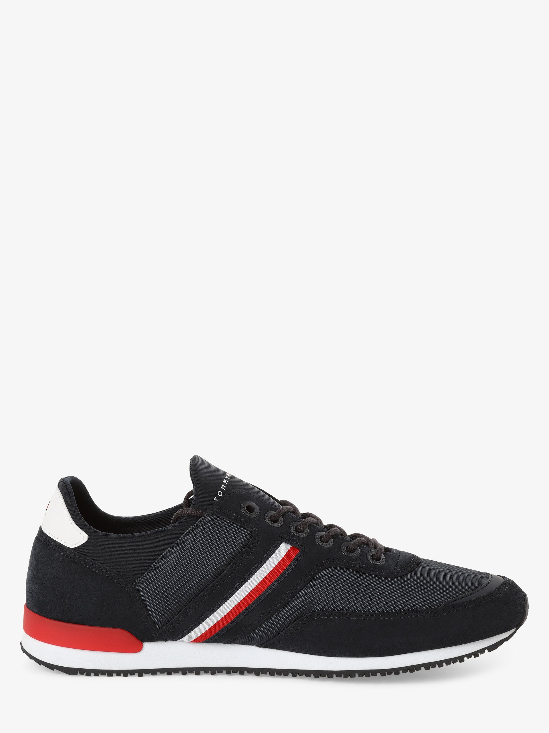 Tommy Hilfiger Tenisówki męskie z dodatkiem skóry – Iconic Sock Runner