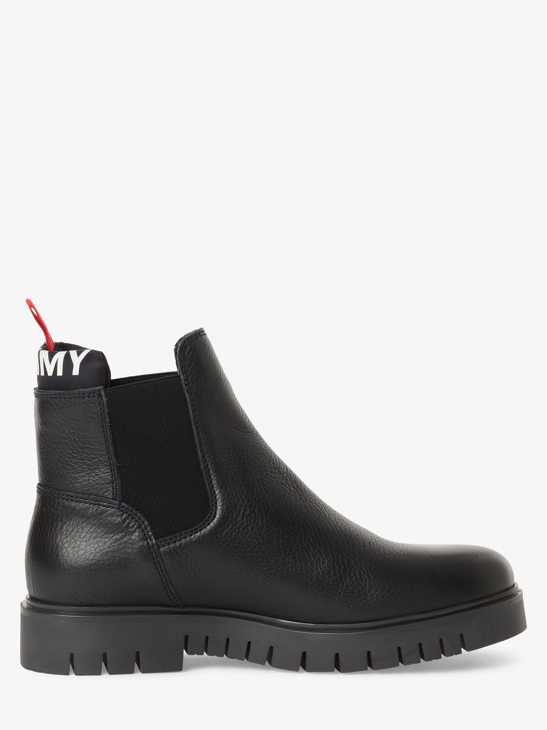 Tommy Jeans Damen Boots aus Leder