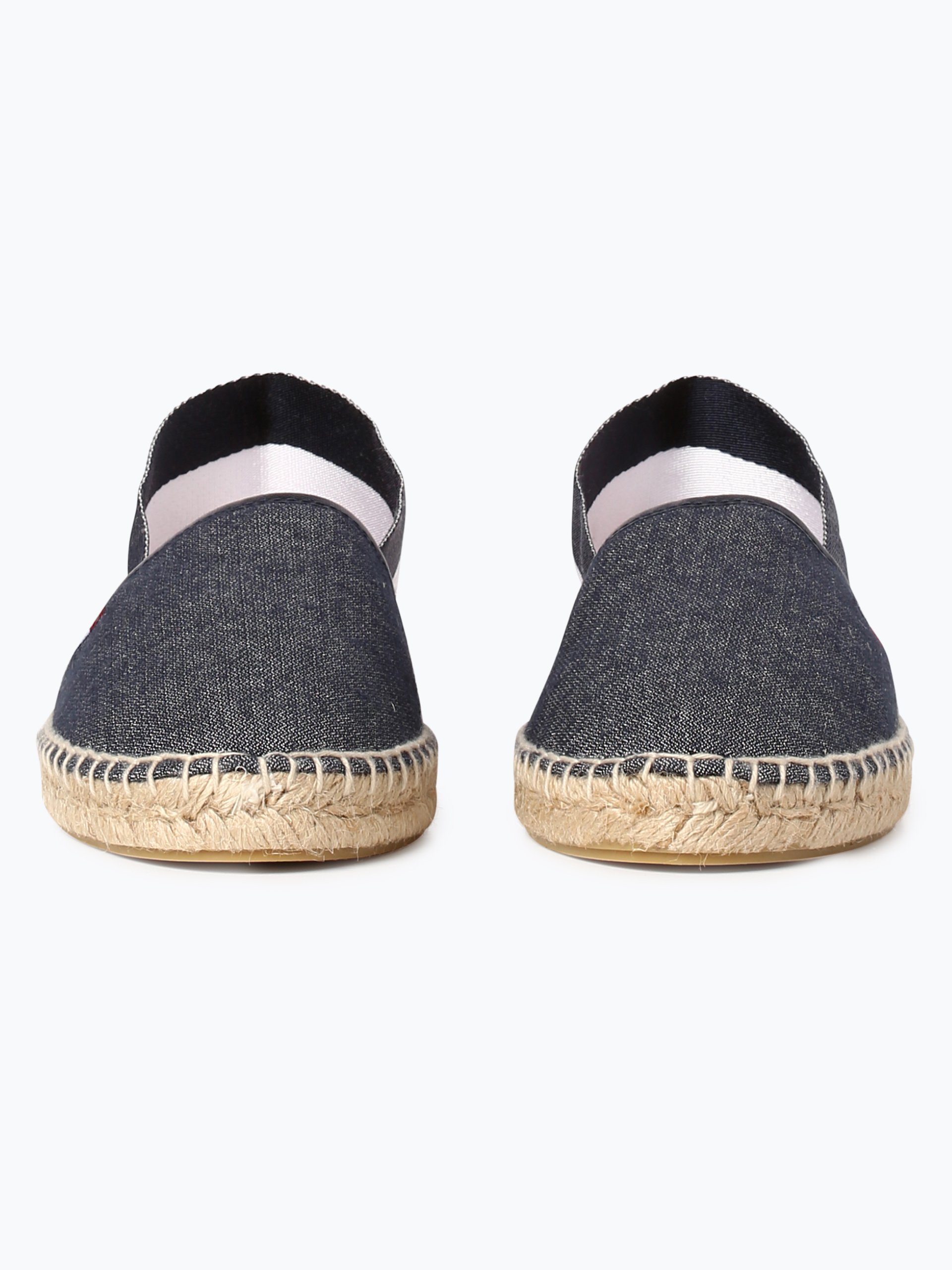 tommy jeans damen espadrilles mit leder anteil marine uni online kaufen peek und cloppenburg de. Black Bedroom Furniture Sets. Home Design Ideas