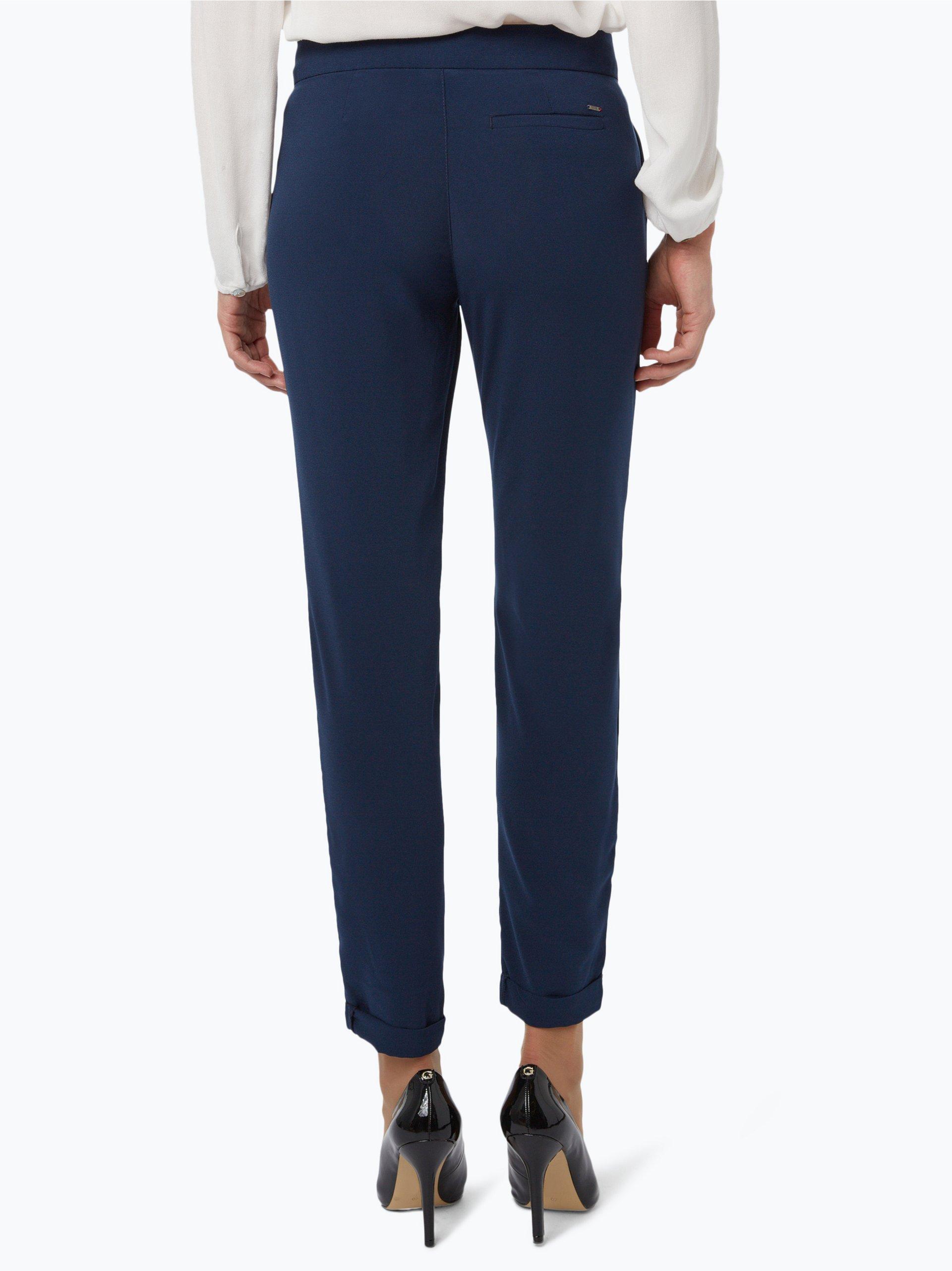 tommy jeans damen hose marine uni online kaufen peek und. Black Bedroom Furniture Sets. Home Design Ideas