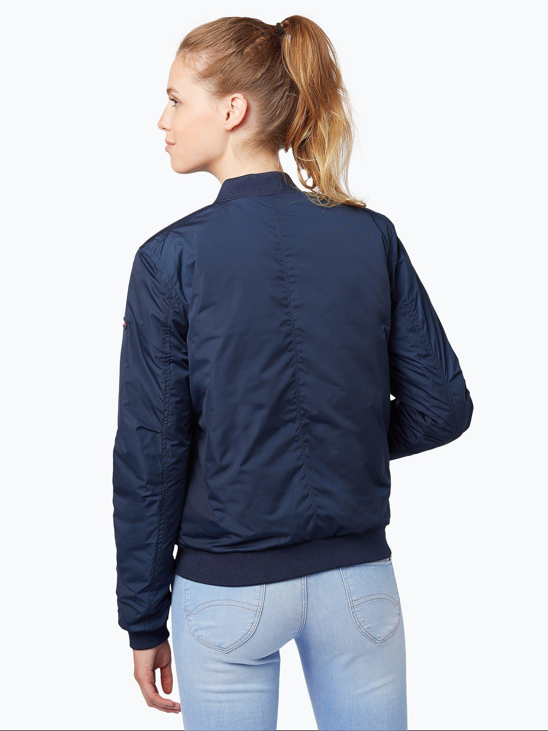 tommy jeans damen jacke marine uni online kaufen. Black Bedroom Furniture Sets. Home Design Ideas