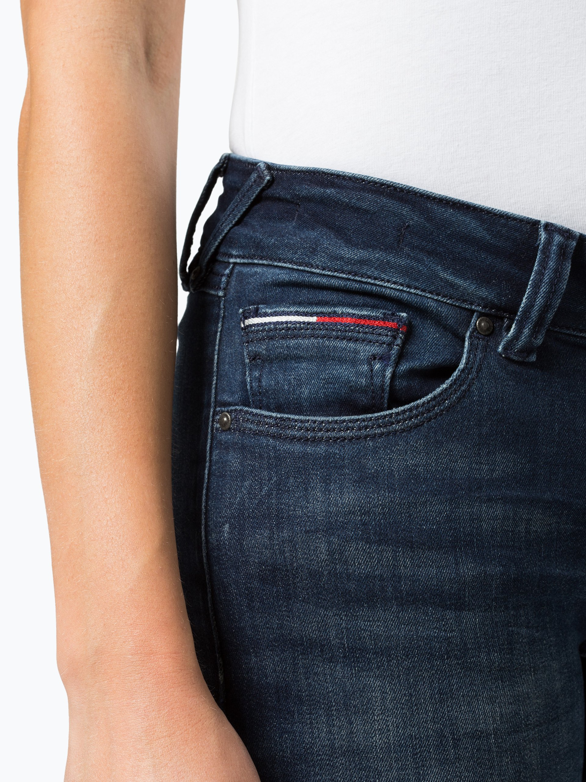 tommy jeans damen jeans sophie marine uni online kaufen. Black Bedroom Furniture Sets. Home Design Ideas