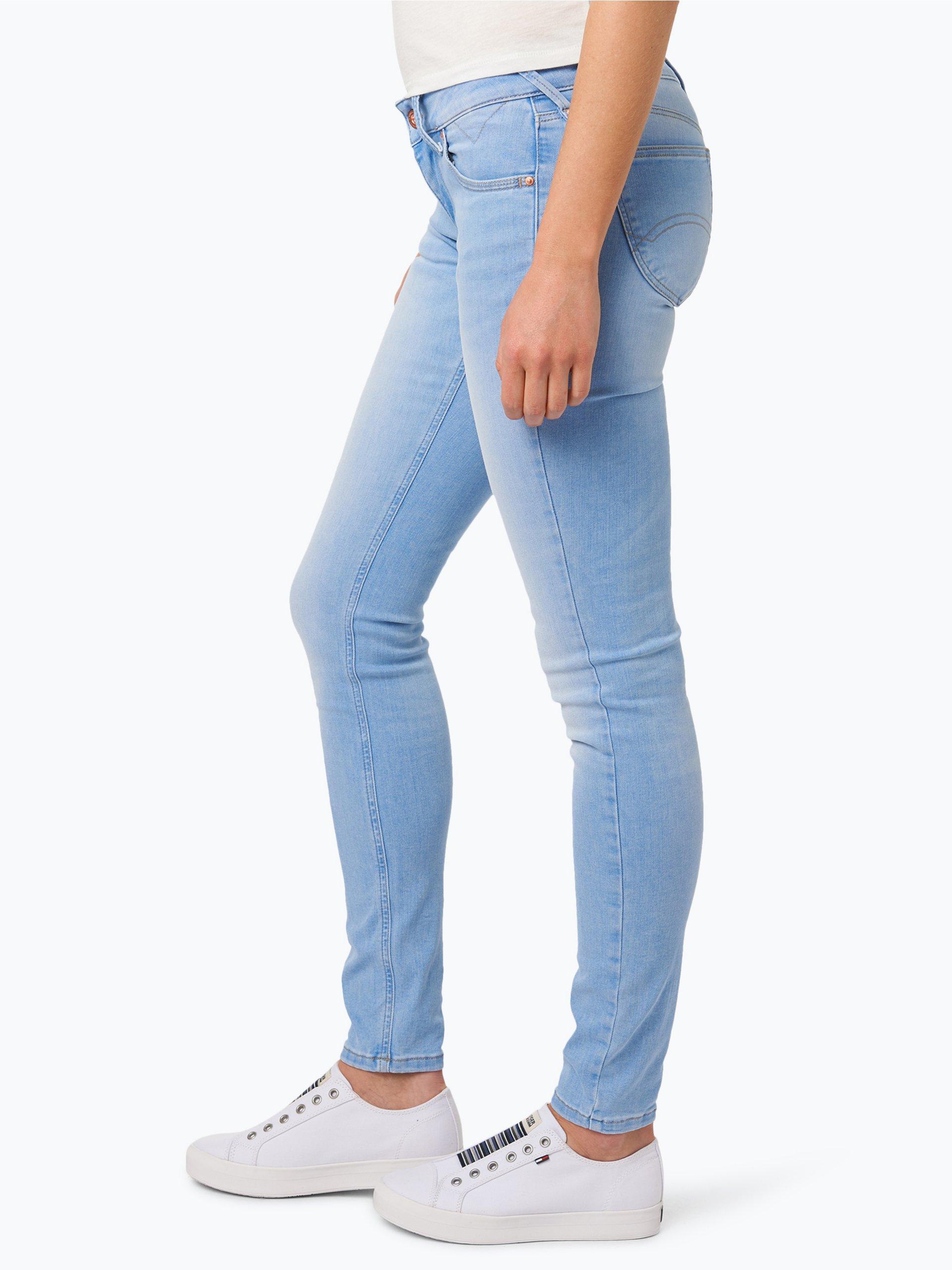 tommy jeans damen jeans sophie hellblau uni online. Black Bedroom Furniture Sets. Home Design Ideas